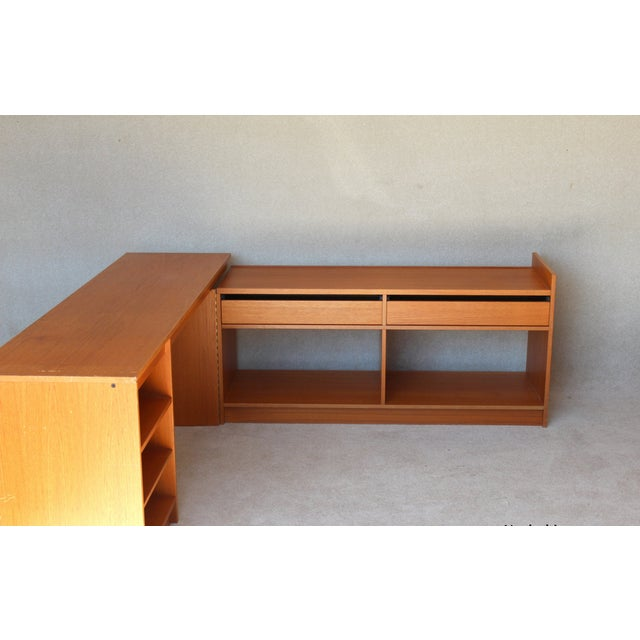 Aspect Fit Width 640 Height Danish Modern Expandable Desk Mid Century Chairish