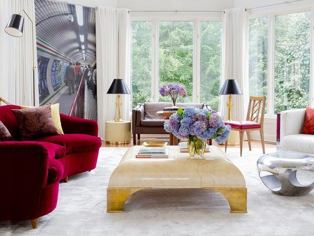 Image of Modern Glam Living Room