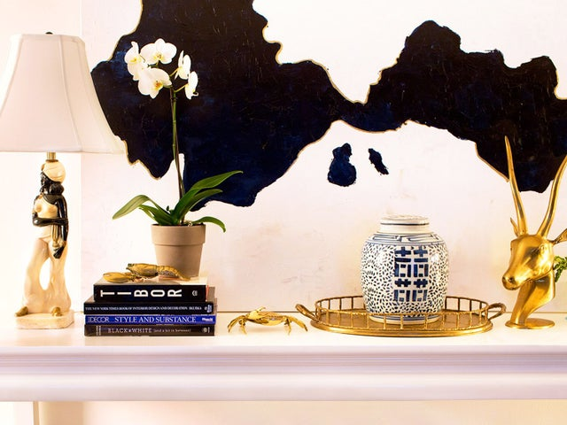Image of Black, White & Gold