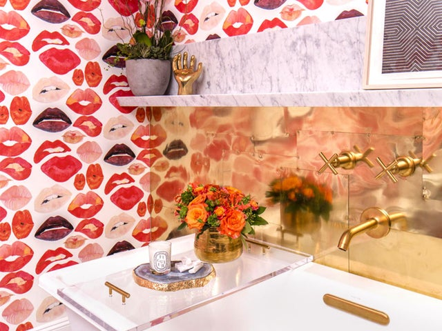 Image of Powder Room Accents