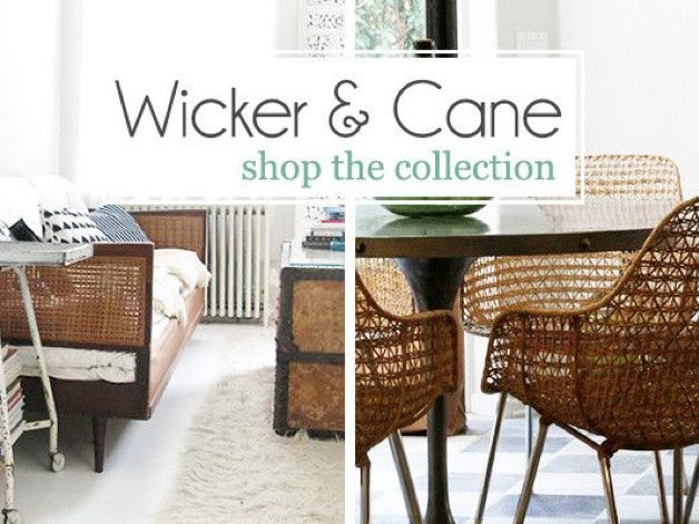 Image of Wicker & Cane