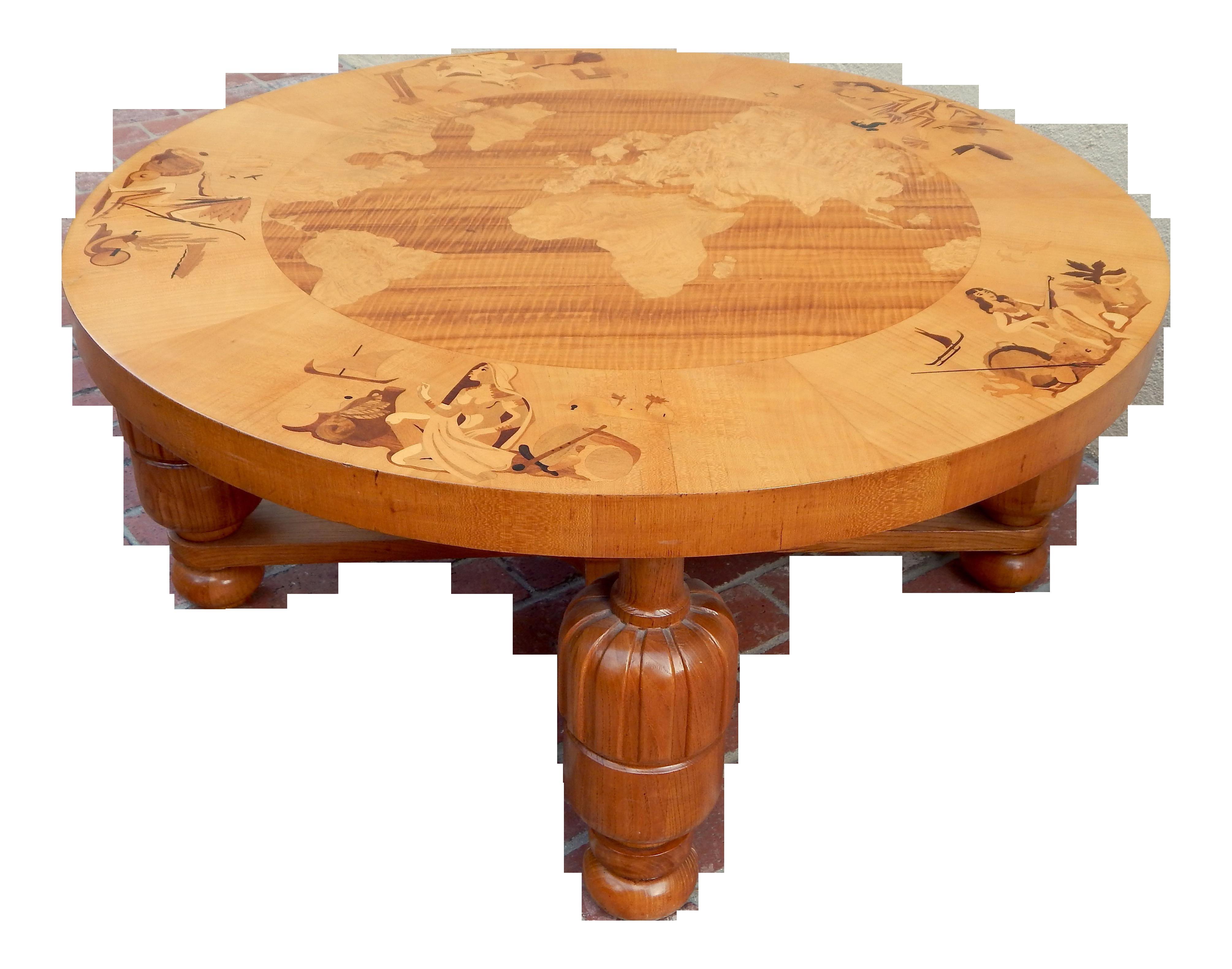 Luxury swedish art deco inlaid coffee table vrlden runt by luxury swedish art deco inlaid coffee table vrlden runt by birger ekman for reiners mbler circa 1930 decaso geotapseo Choice Image