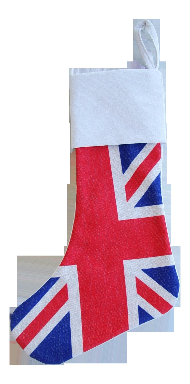 British Union Jack Christmas Stocking Chairish