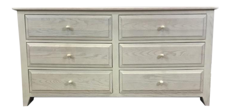 Pottery Barn Washed Wood Chest Of Drawers
