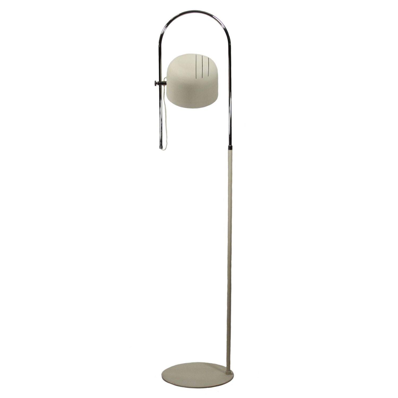 Italian joe colombo style chrome floor lamp chairish for Ottoni floor lamp chrome
