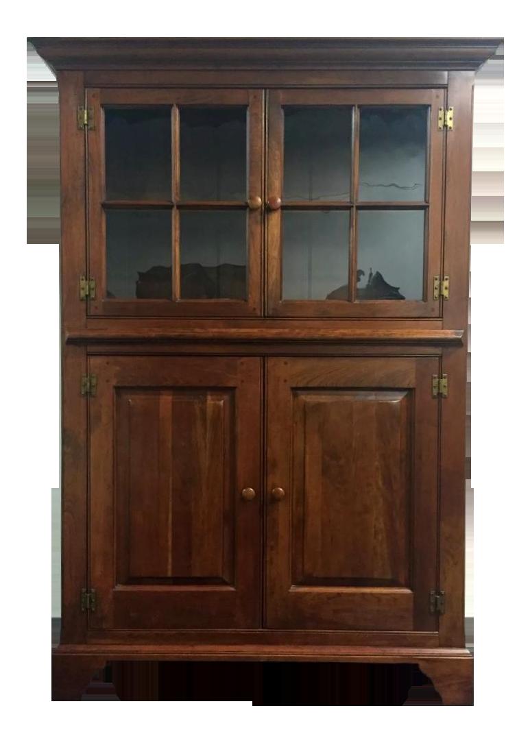 Lexington Bob Timberlake Kitchen Pottery Cupboard Chairish