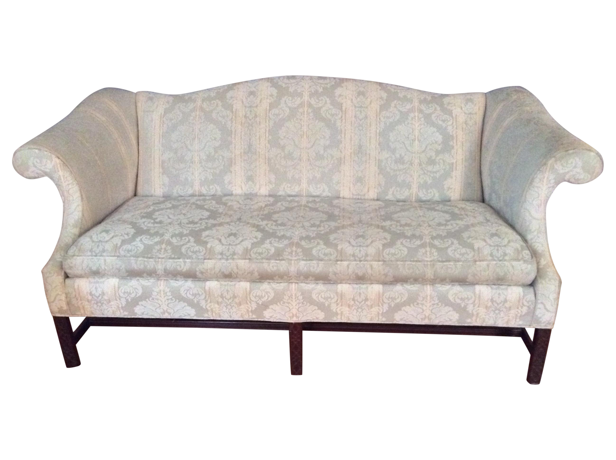 Chippendale sofaschippendale sofas - Image Of Chippendale Camelback Sofa