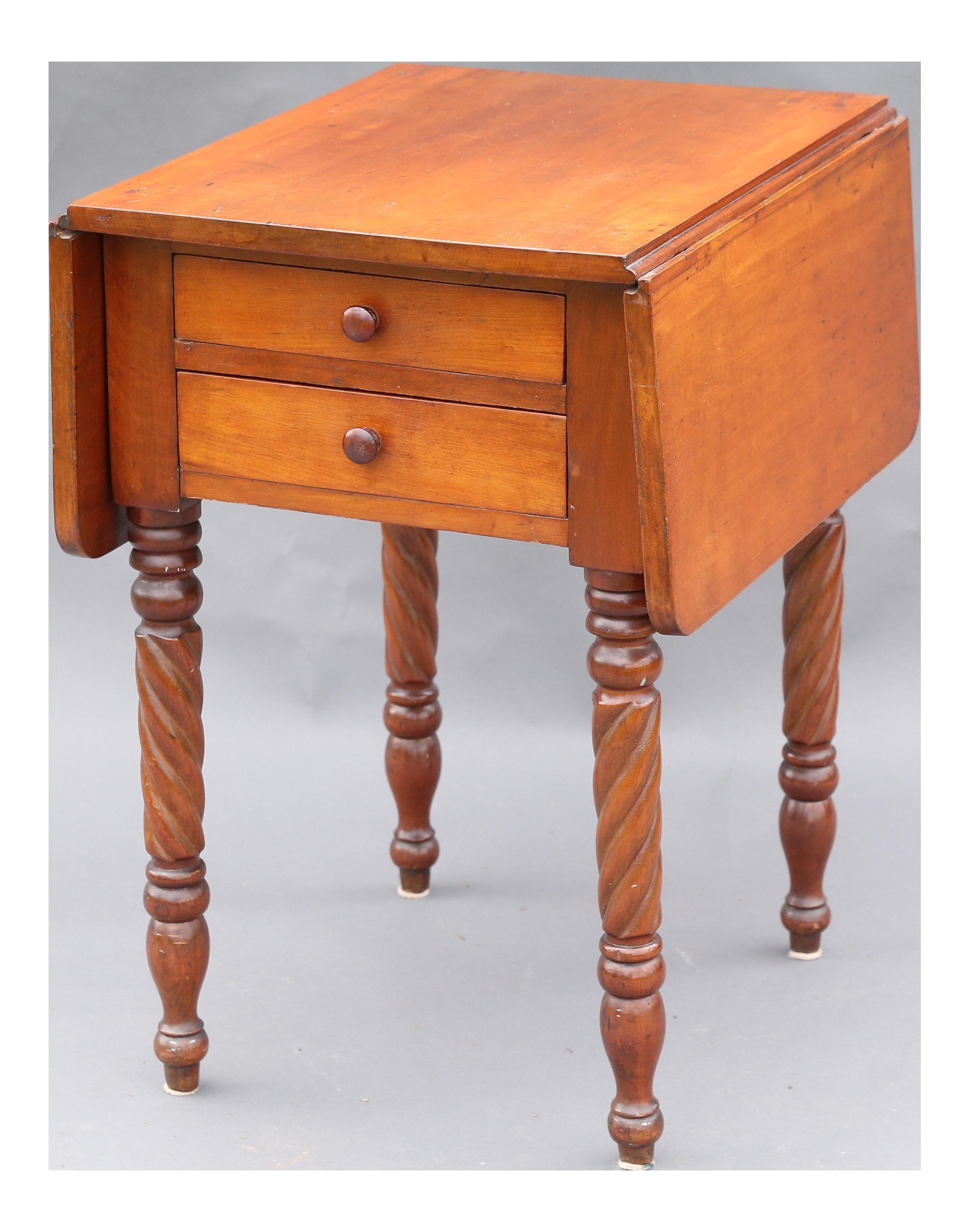 Pembroke Drop Leaf Table Chairish : pembroke drop leaf table 1190 from www.chairish.com size 2534 x 3222 png 4947kB