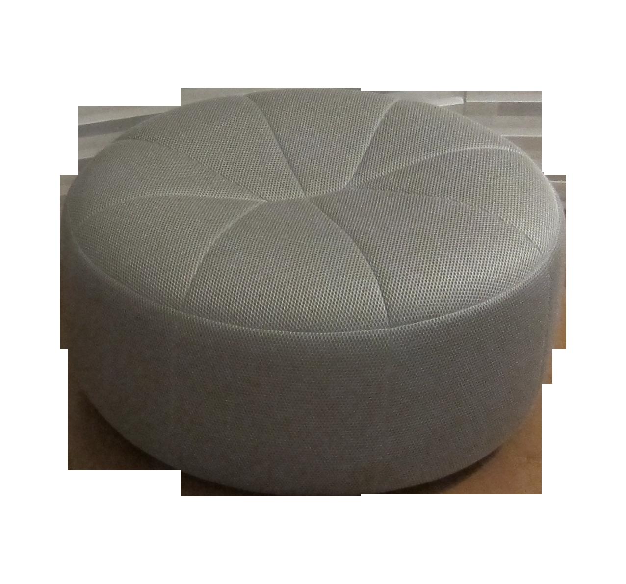 Ligne Roset Pumpkin Round Ottoman Beehive Titane Chairish
