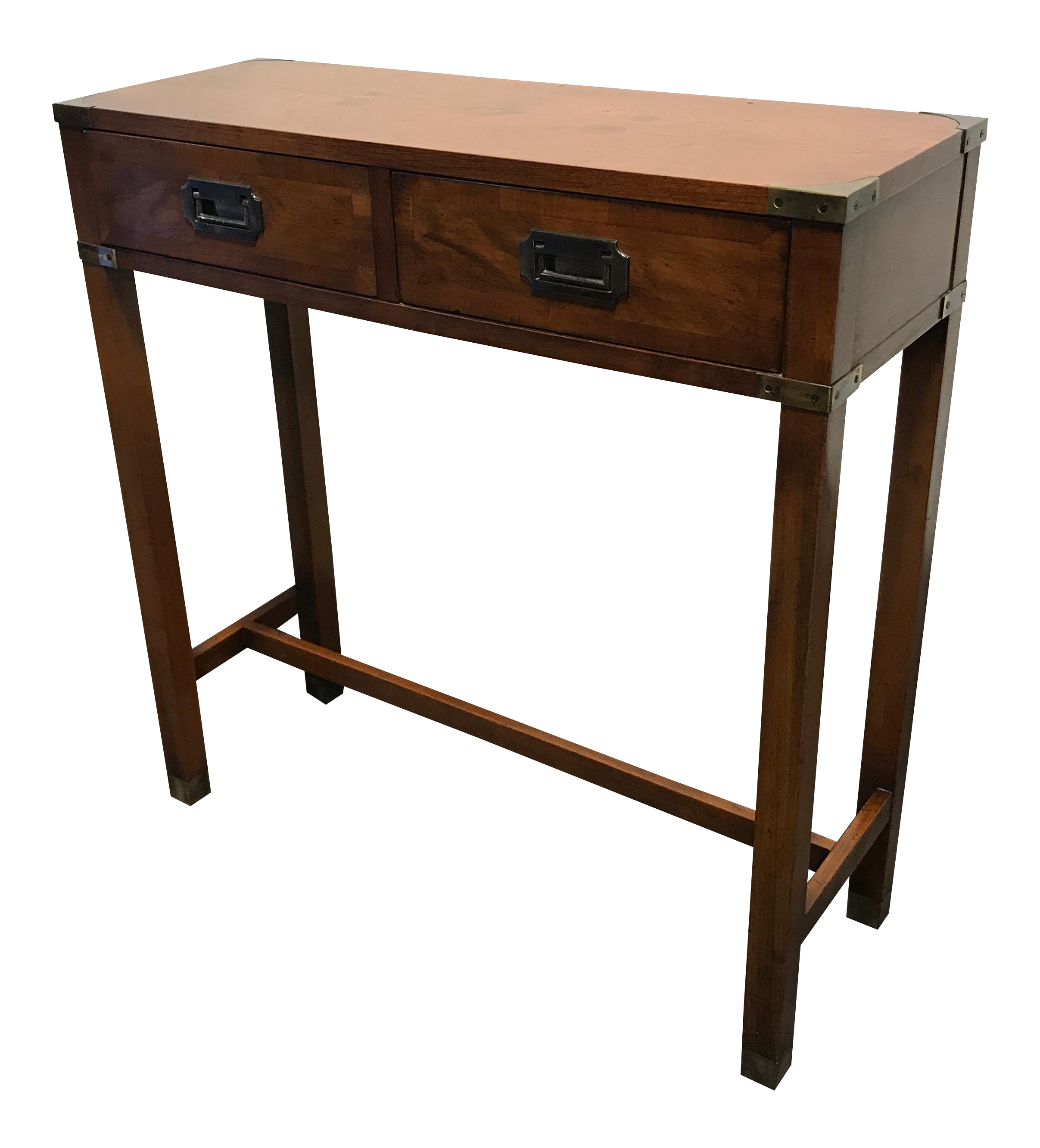 Hekman Coffee Table Images Rectangle Square Dining Tables  : vintage hekman campaign style diminutive console table 6615 from zenlaser.co size 2414 x 2663 png 3630kB
