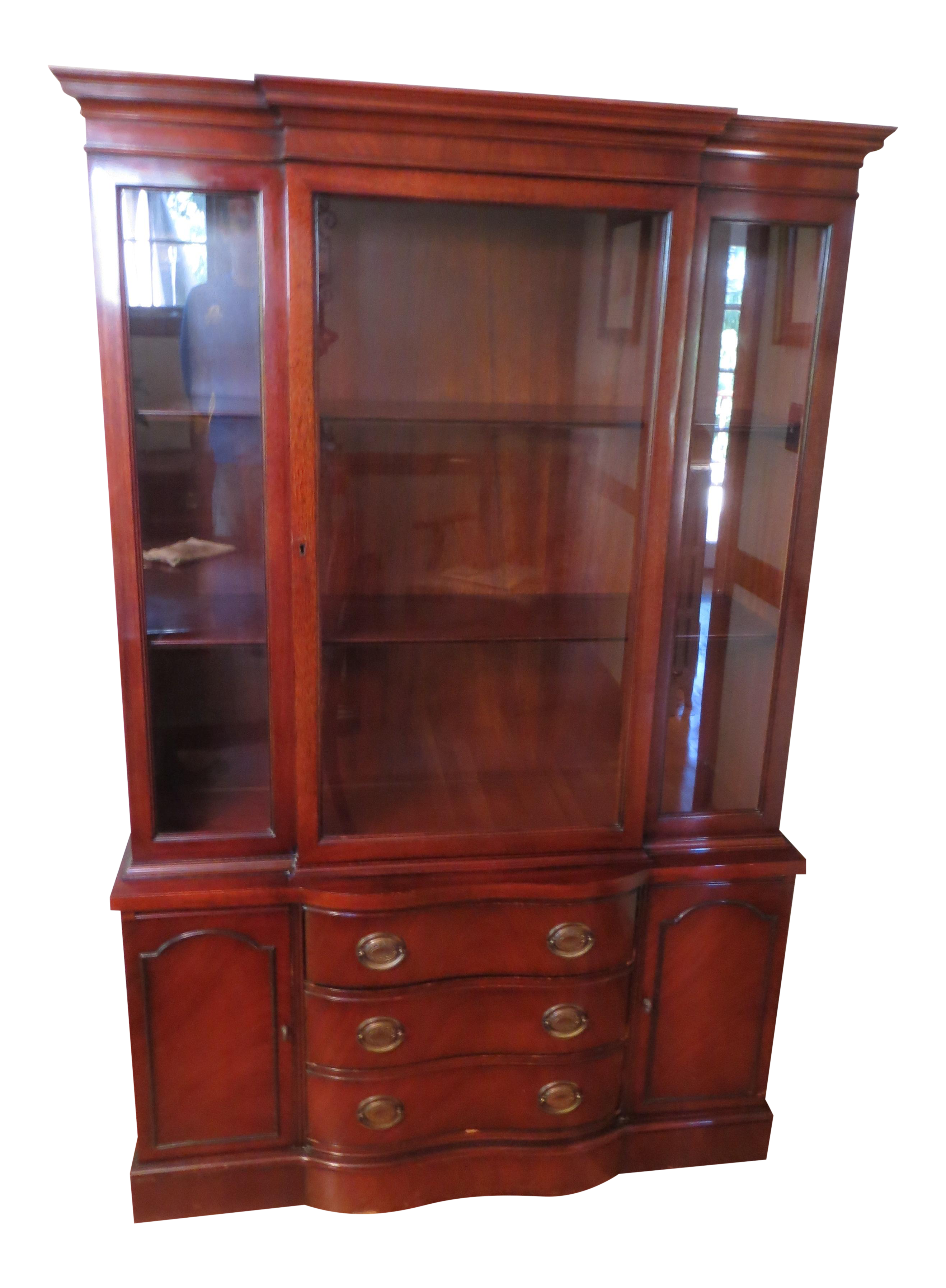 1950s Drexel Mahogany Hutch Chairish