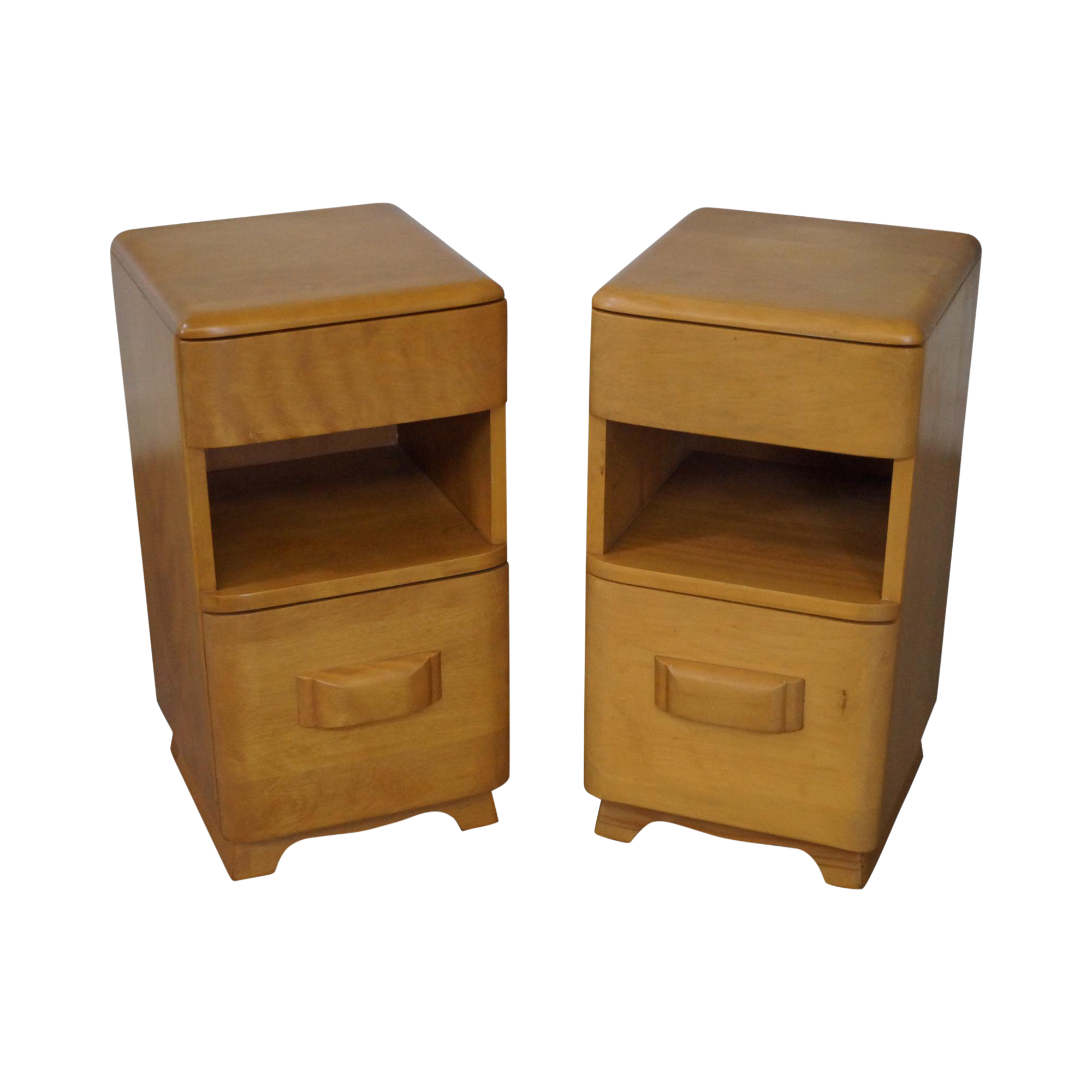 Heywood Wakefield Maple Nightstands A Pair Chairish