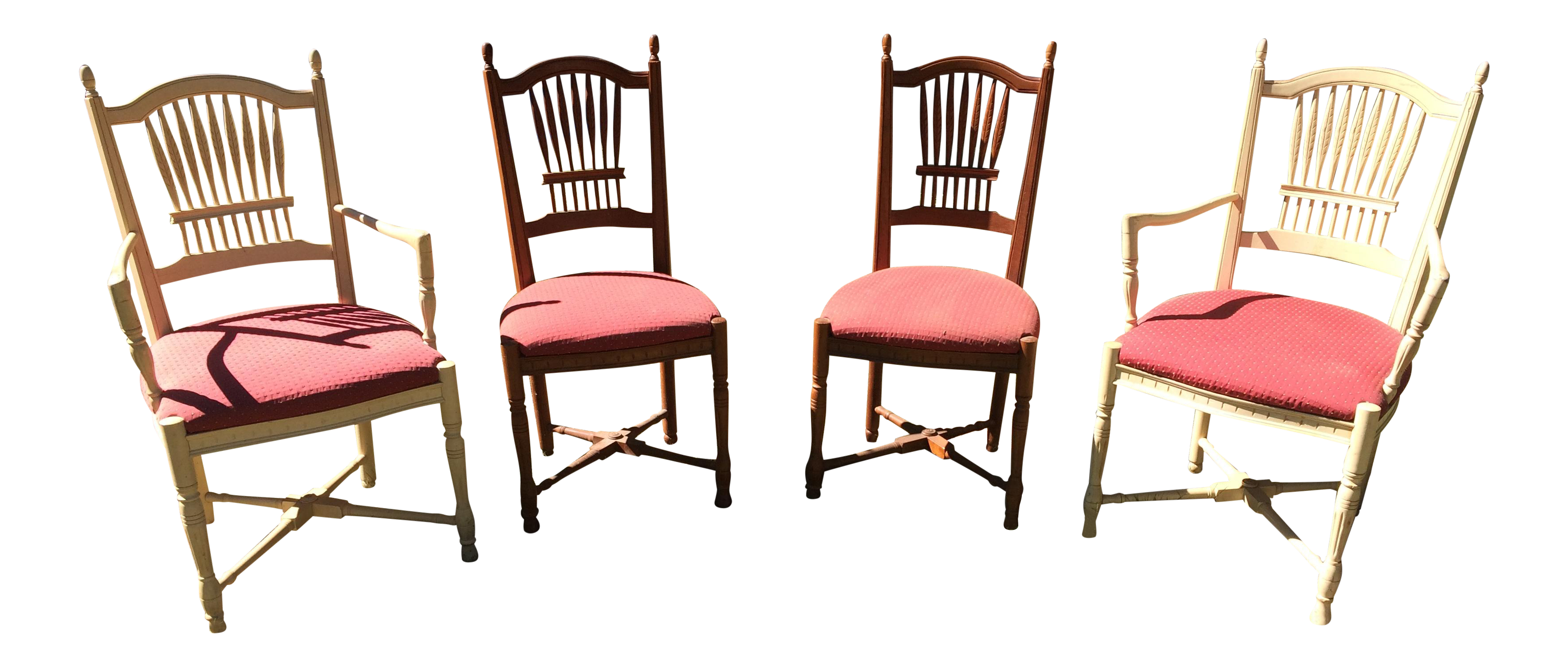 Ethan Allen Legacy Wheatback Chairs Set of Four