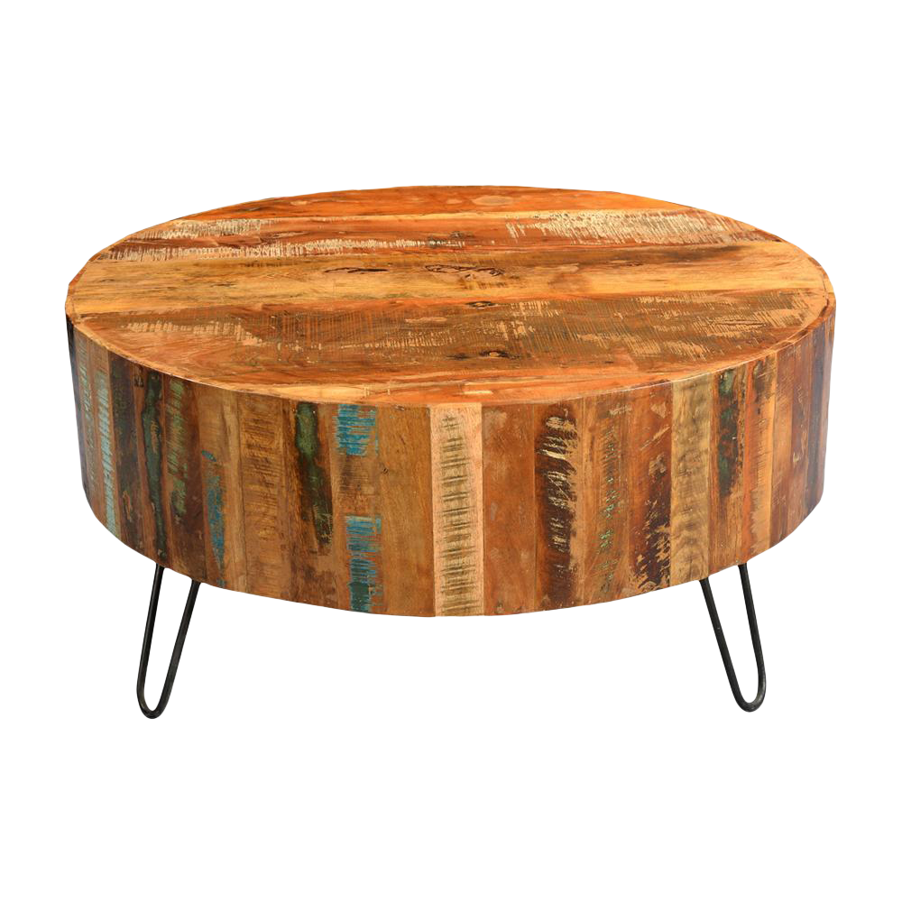 Image Of Tulsa Reclaimed Wood Coffee Table - Reclaimed Wood Tulsa - Wood Boring Insects