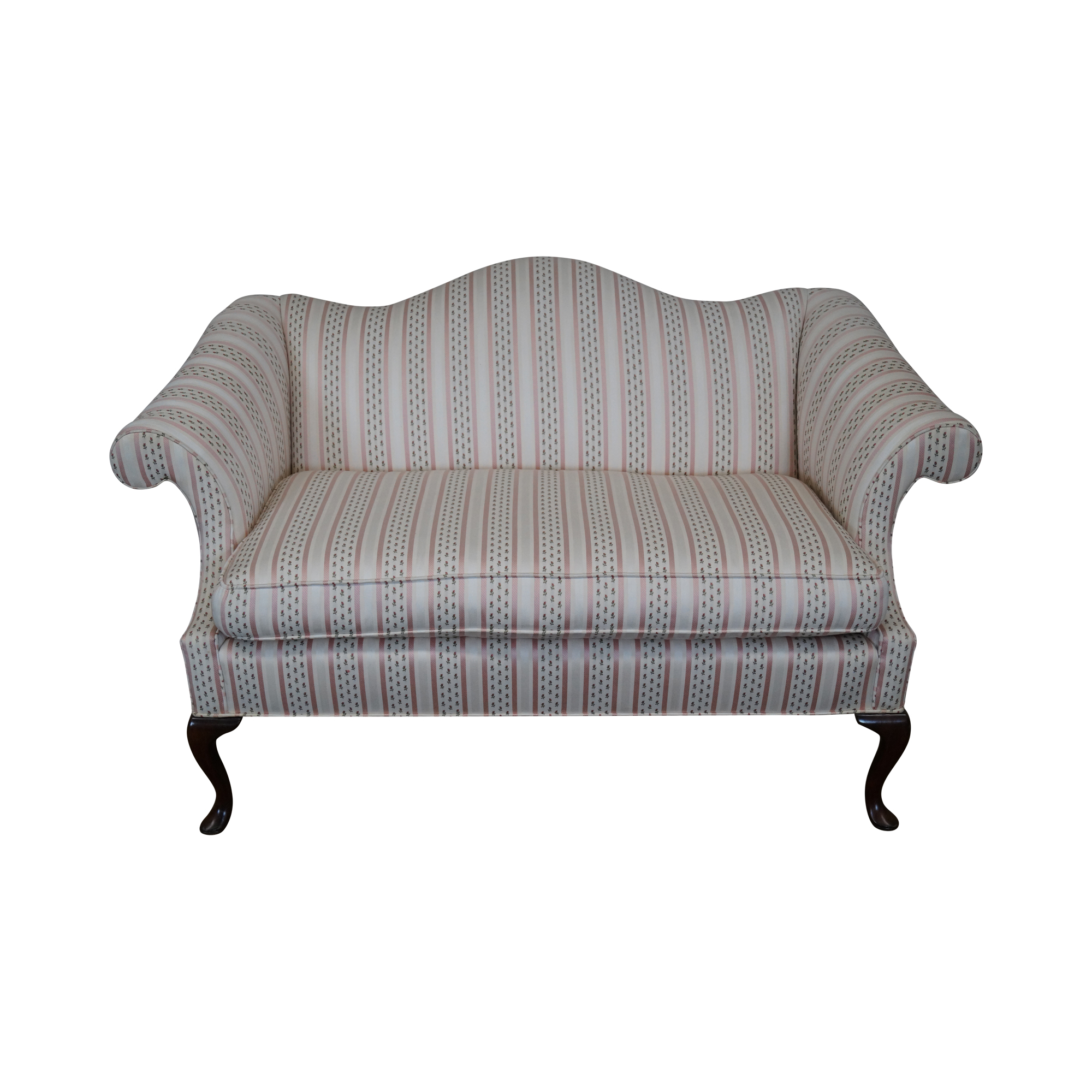 Harden Queen Anne 18th Century Style Loveseat B Chairish