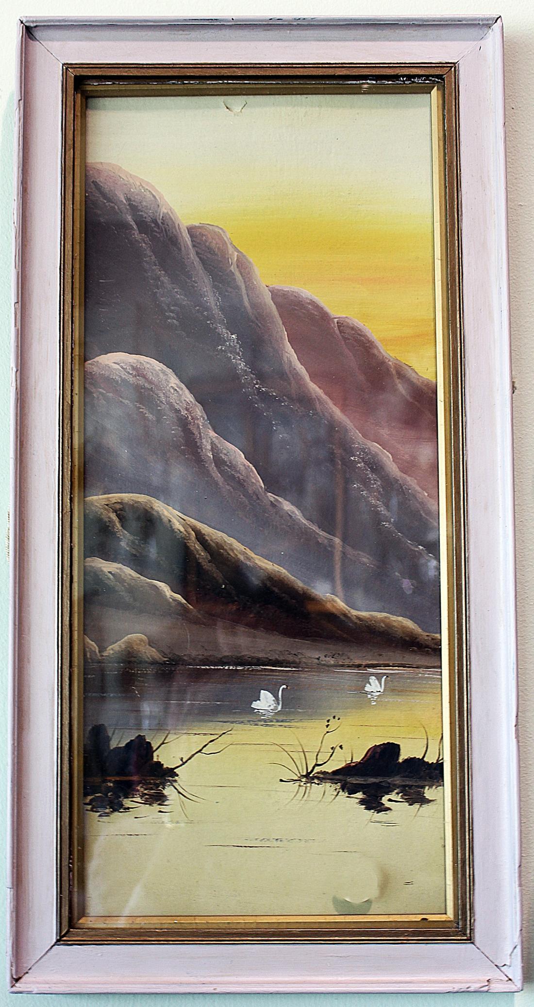 Japanese Style Pastel Art Painting Chairish