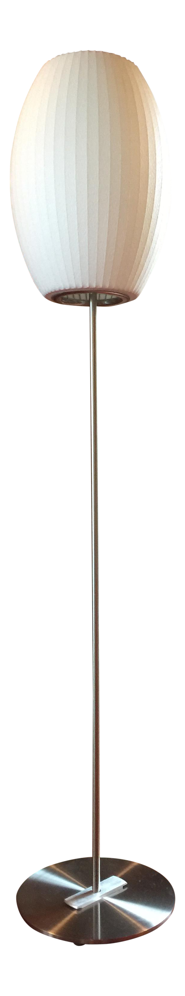 Nelson cigar floor lamp small chairish geotapseo Gallery