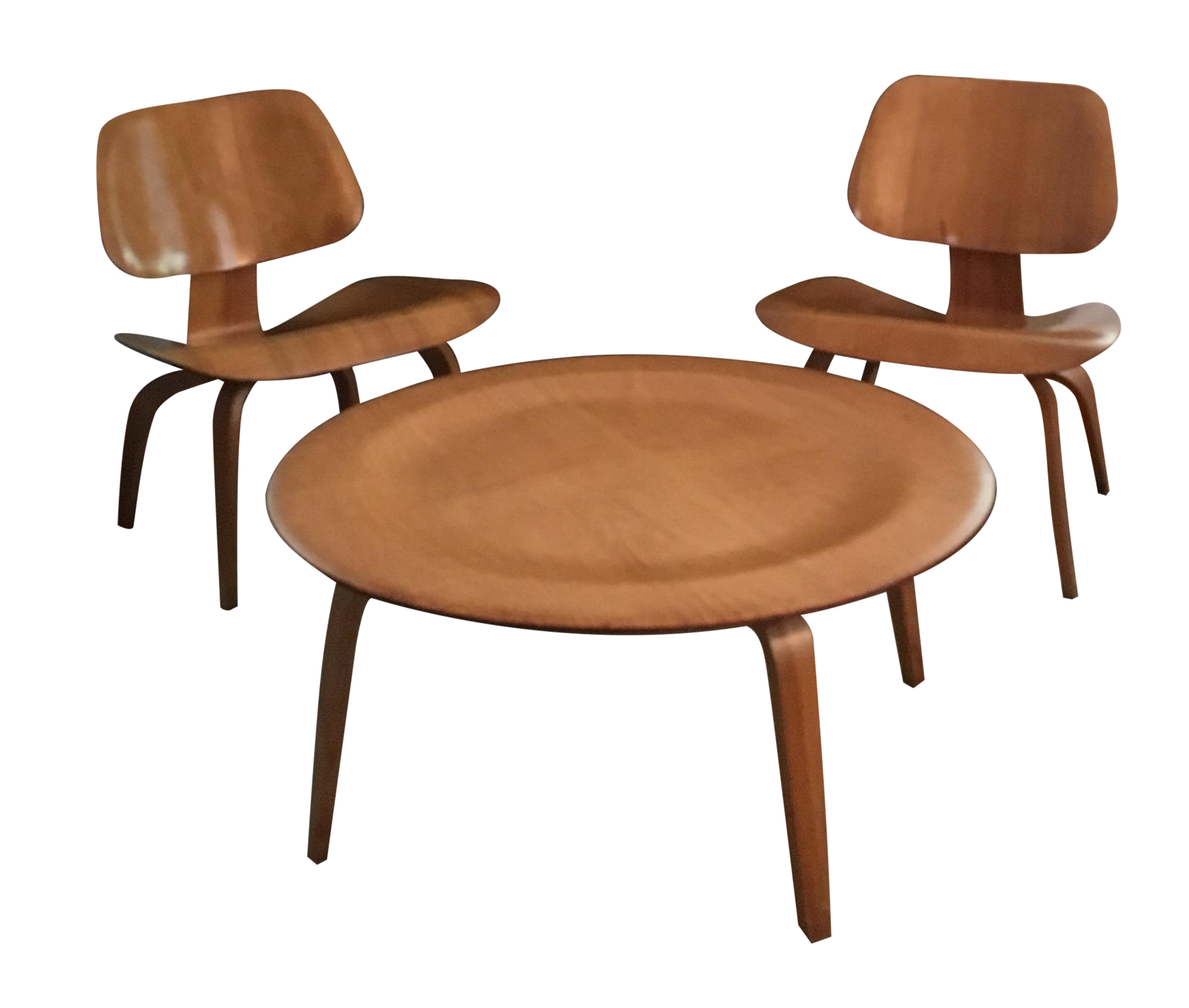 Original eames chair - Eames Coffee Table And Chairs 3