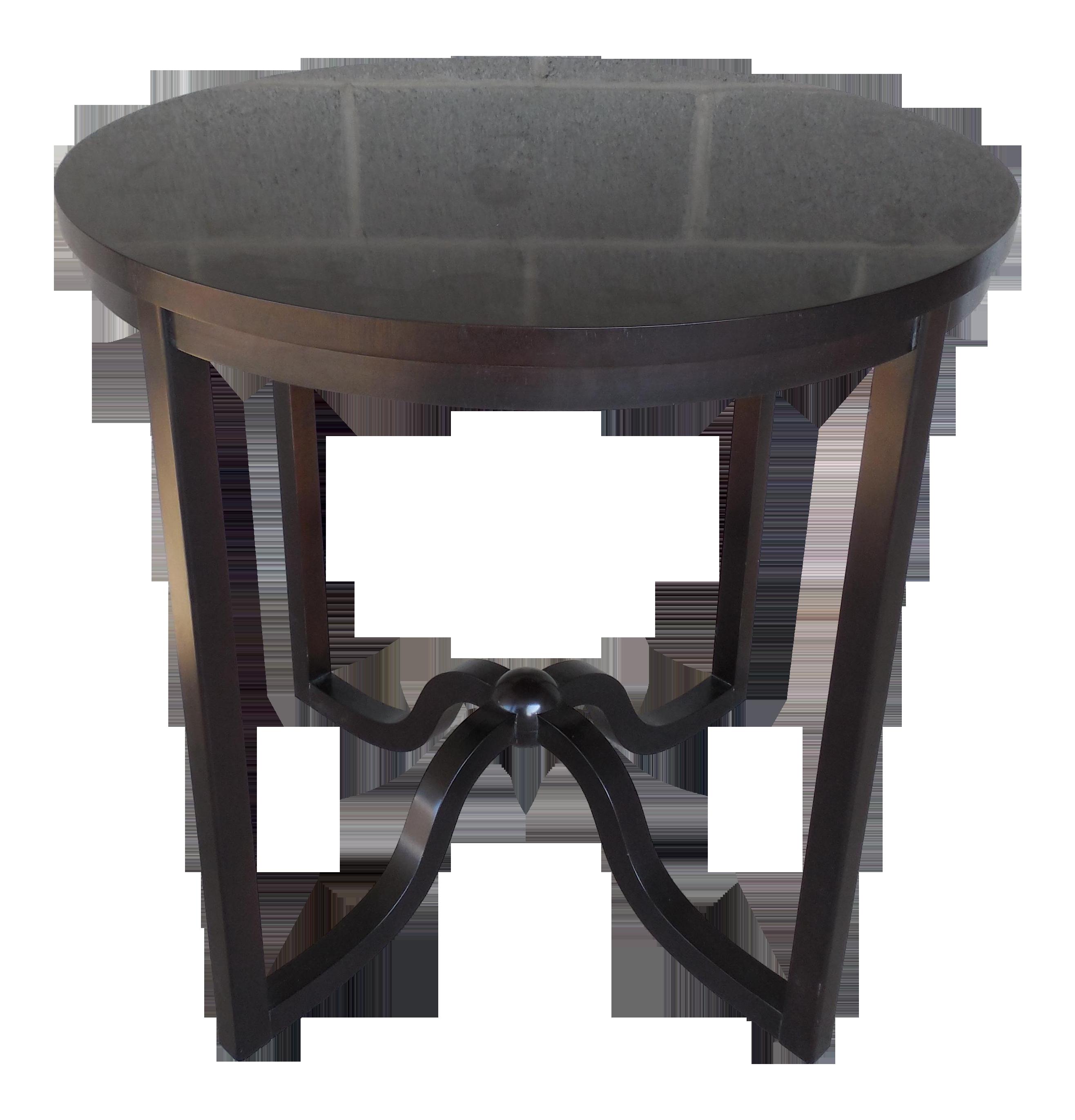 Baker Furniture Lien Side Table