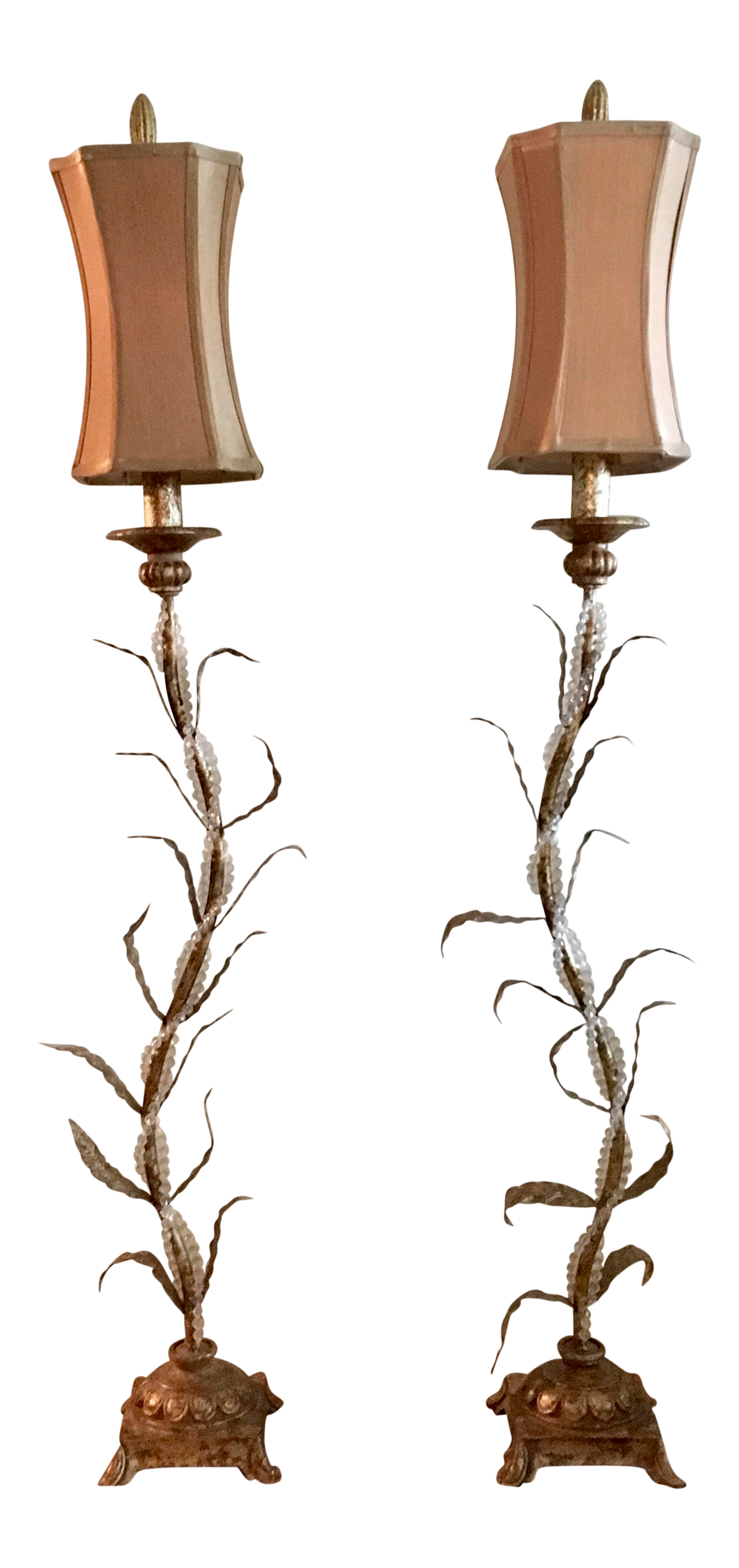 Artisan table lamps a pair chairish geotapseo Image collections