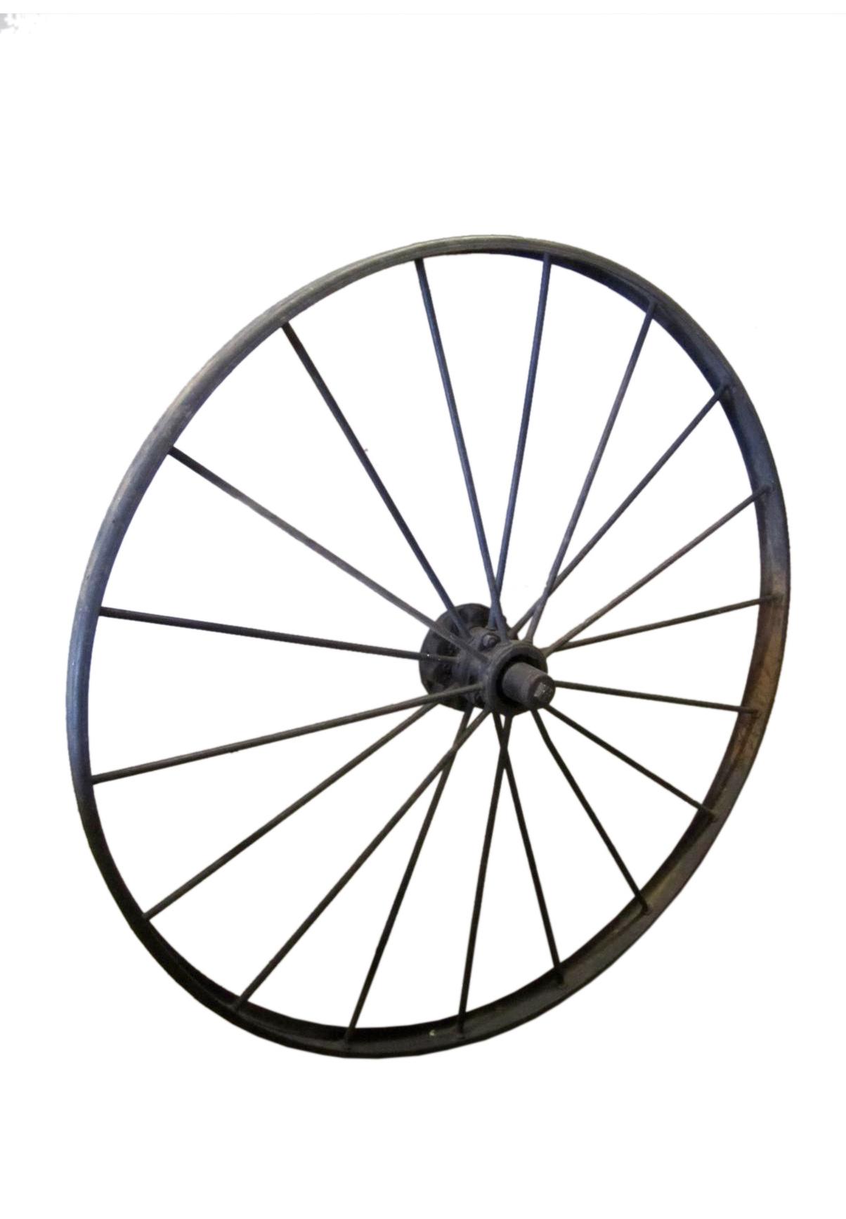 Decorative Metal Wagon Wheel Chairish