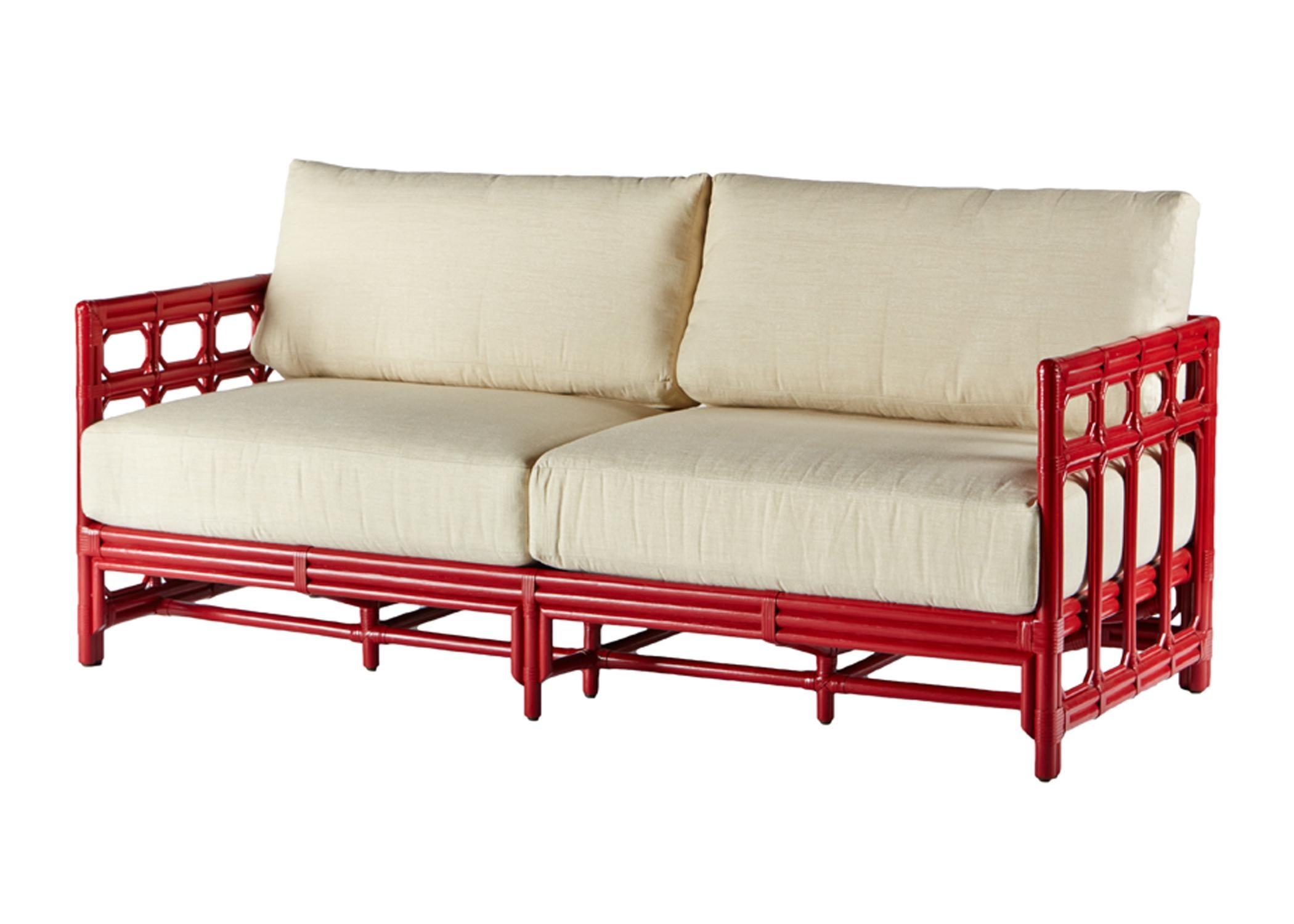 Selamat Designs Regeant Antique Red Sofa Chairish