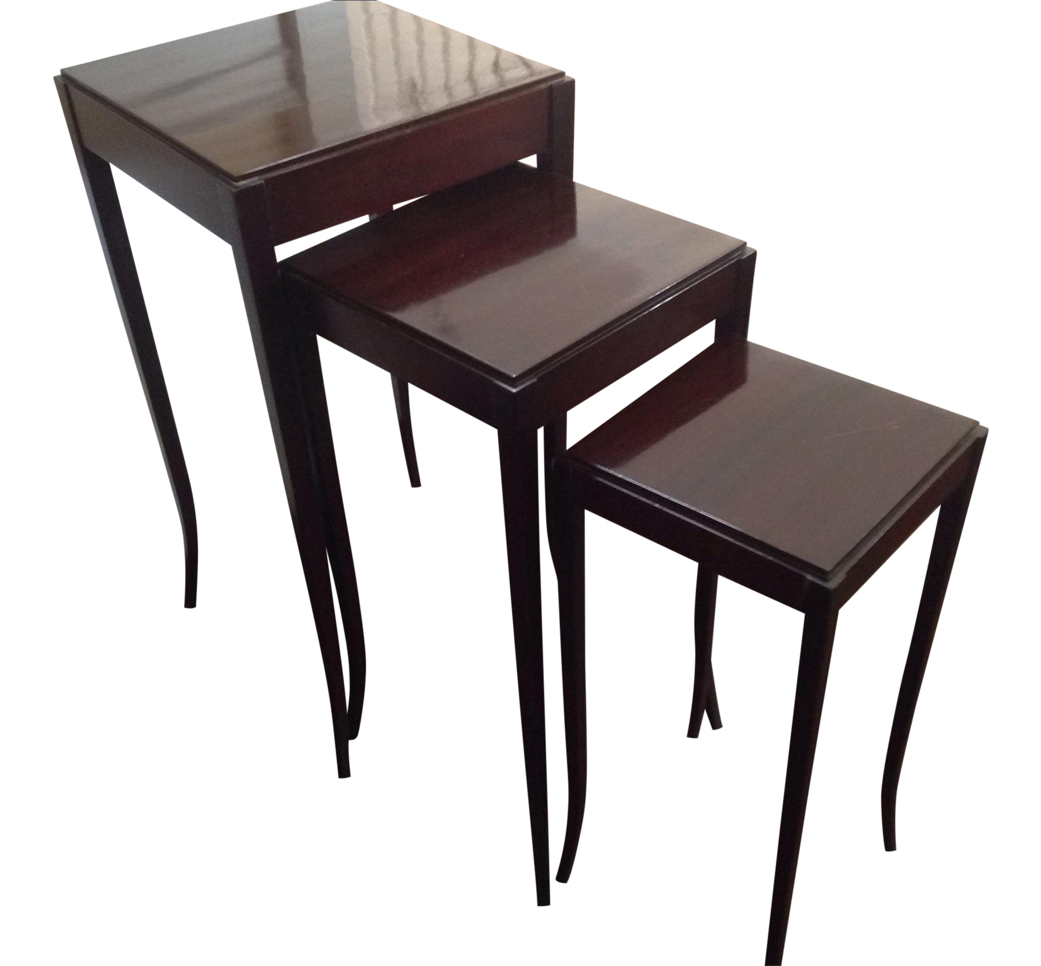 Barbara Barry By Baker Nesting Tables Chairish