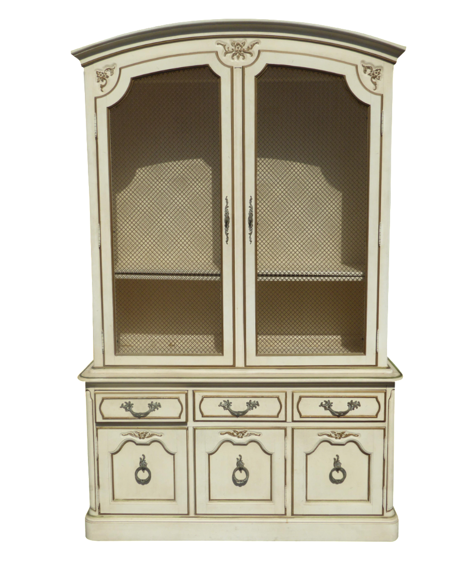 French country china cabinets - French Country China Cabinets 6