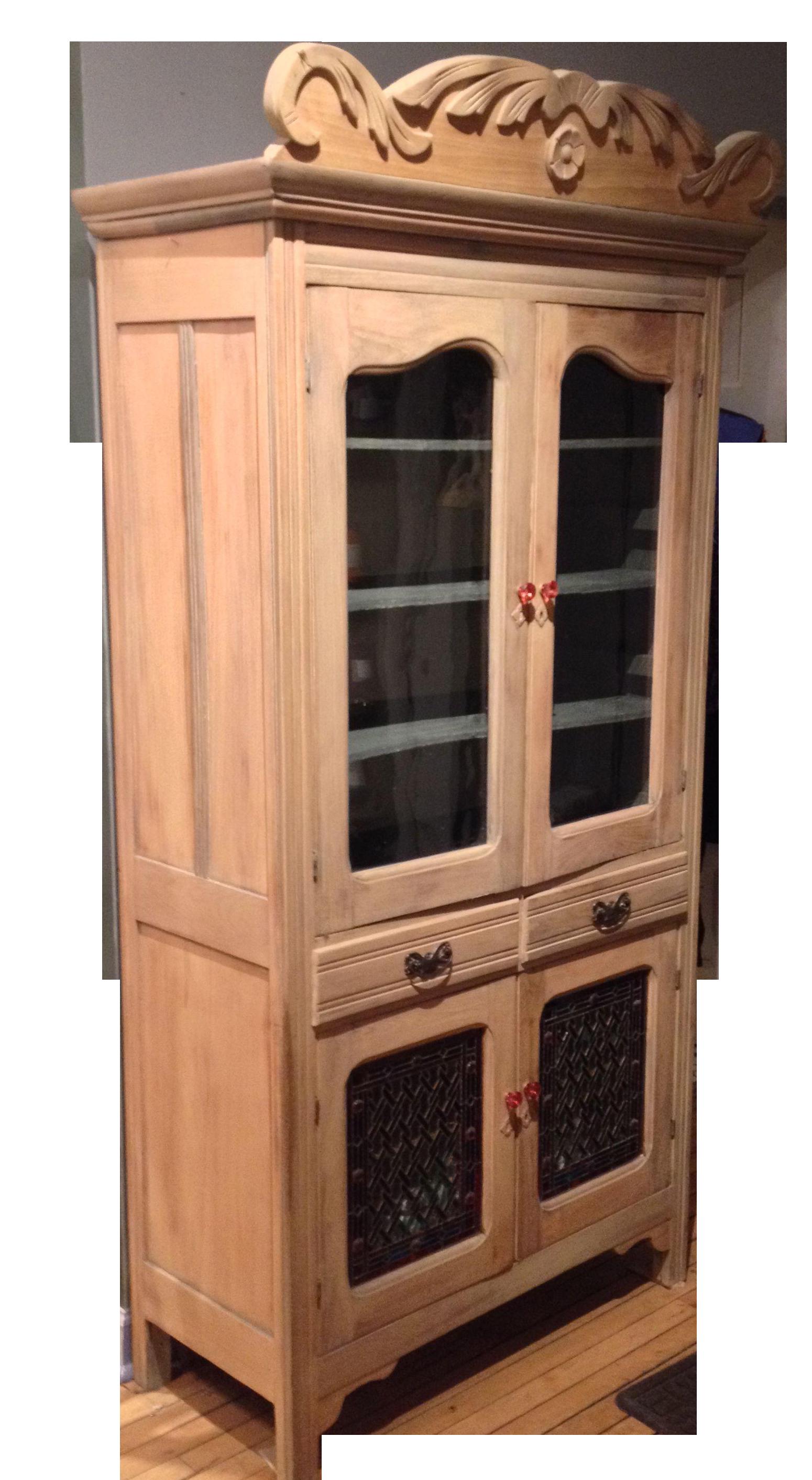 Antique pine cabinet antique furniture for Antique pine kitchen cabinets