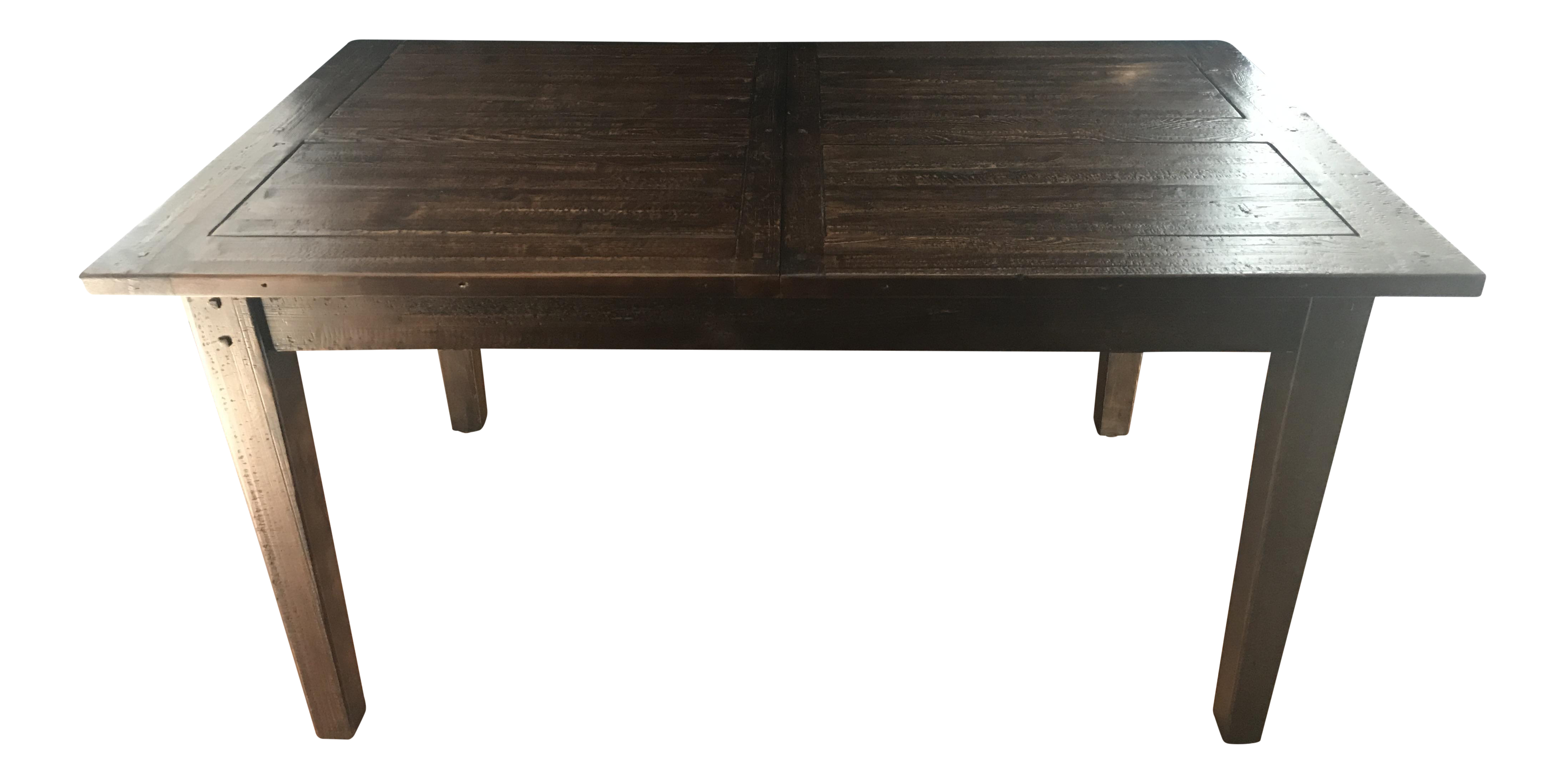 Restoration hardware 1900s boulangerie rectangular for 7 foot dining room table