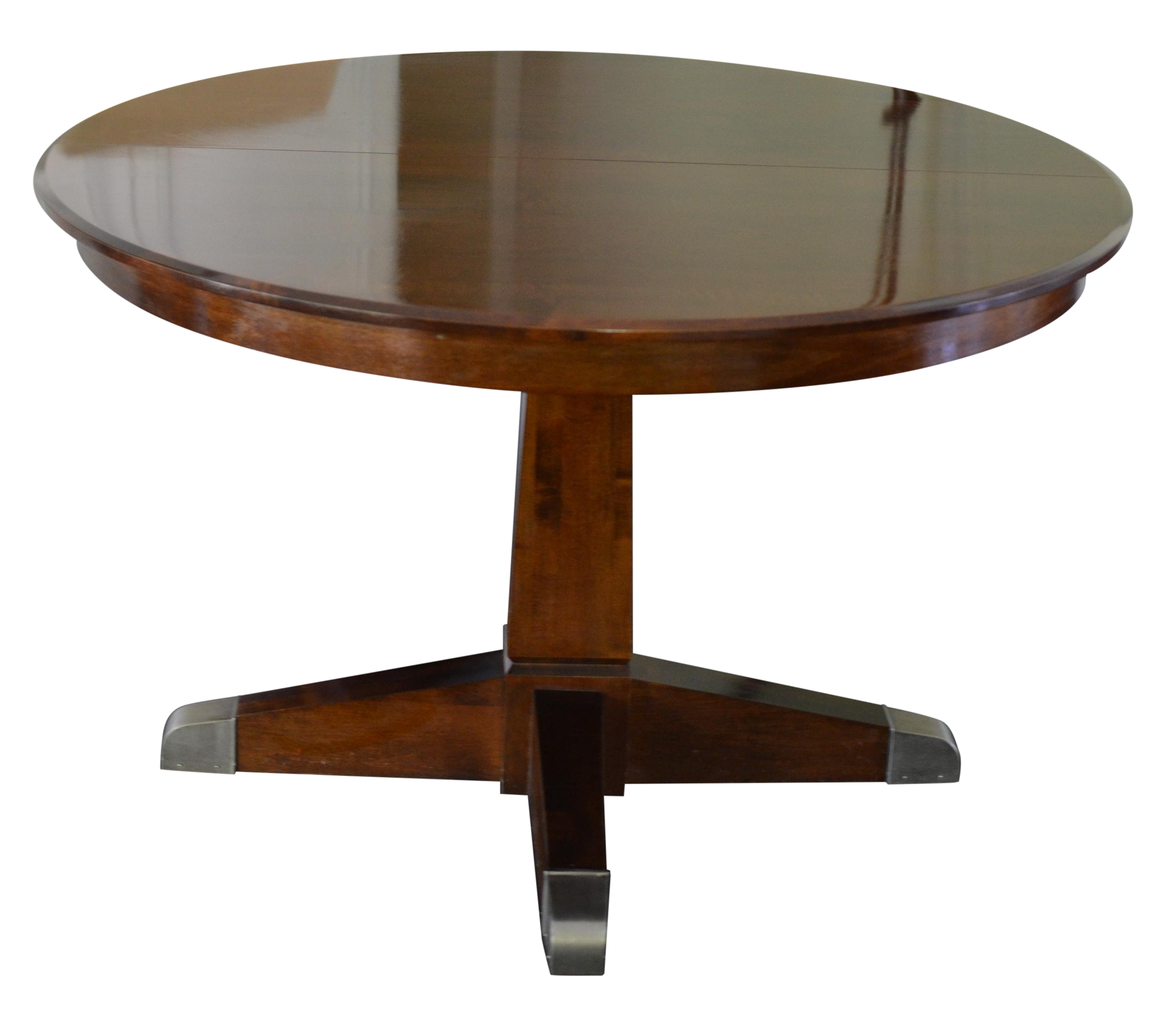 ... Ethan Allen Round Extension Rylan Dining Table Chairish ...