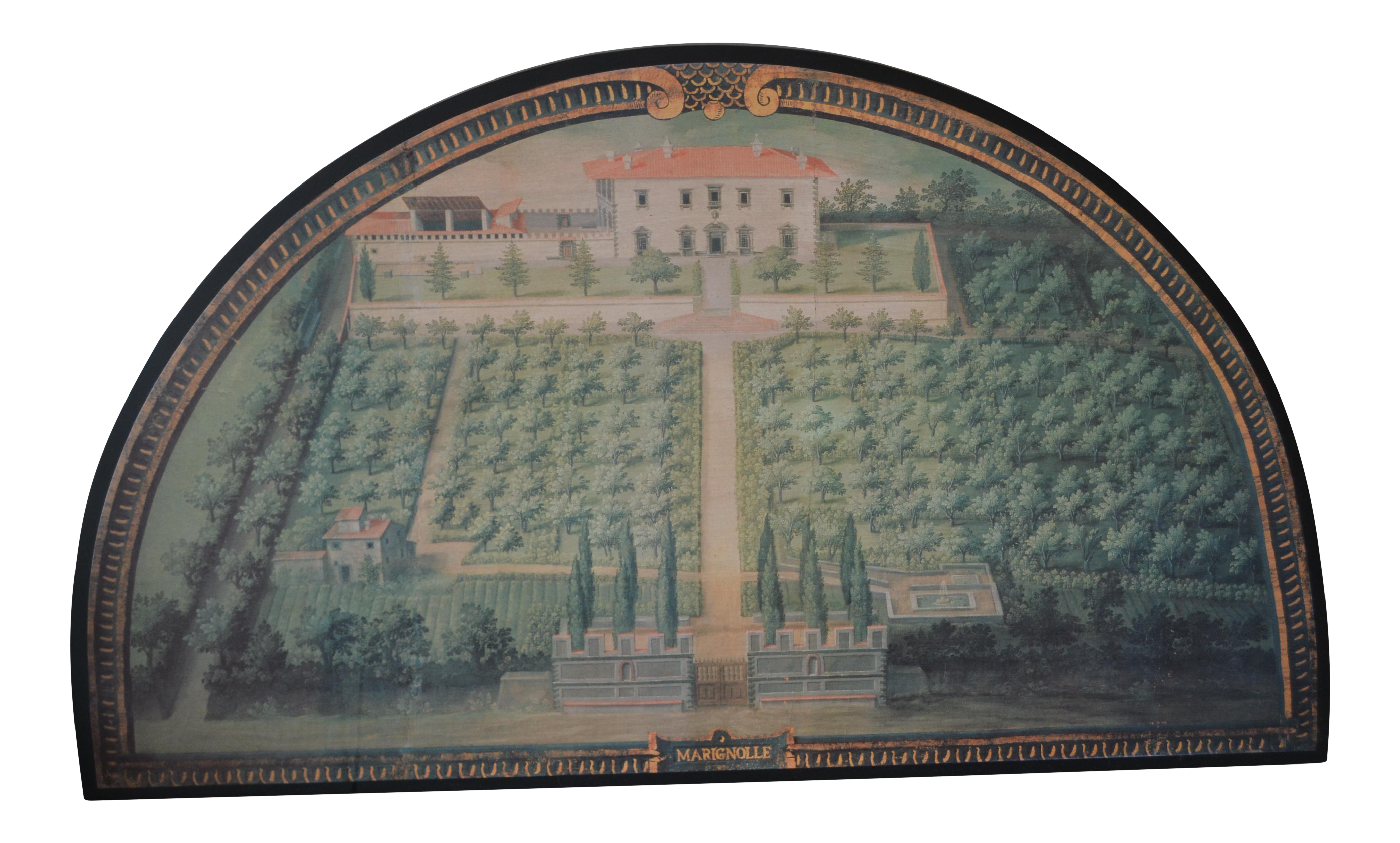 ballard designs tuscan villa wall art chairish