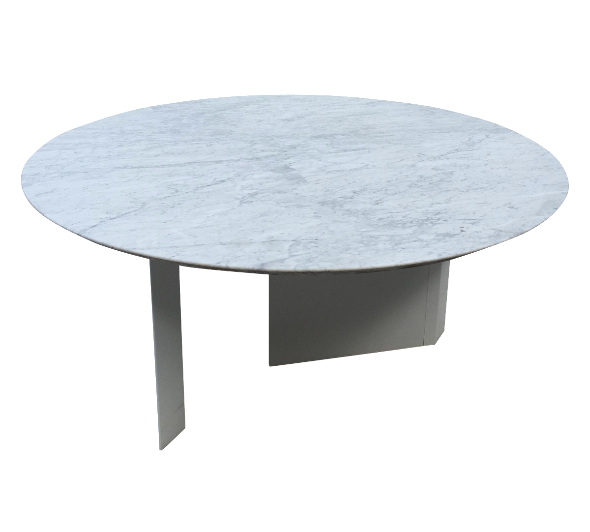 Custom white marble outdoor dining table chairish for Custom made marble dining tables