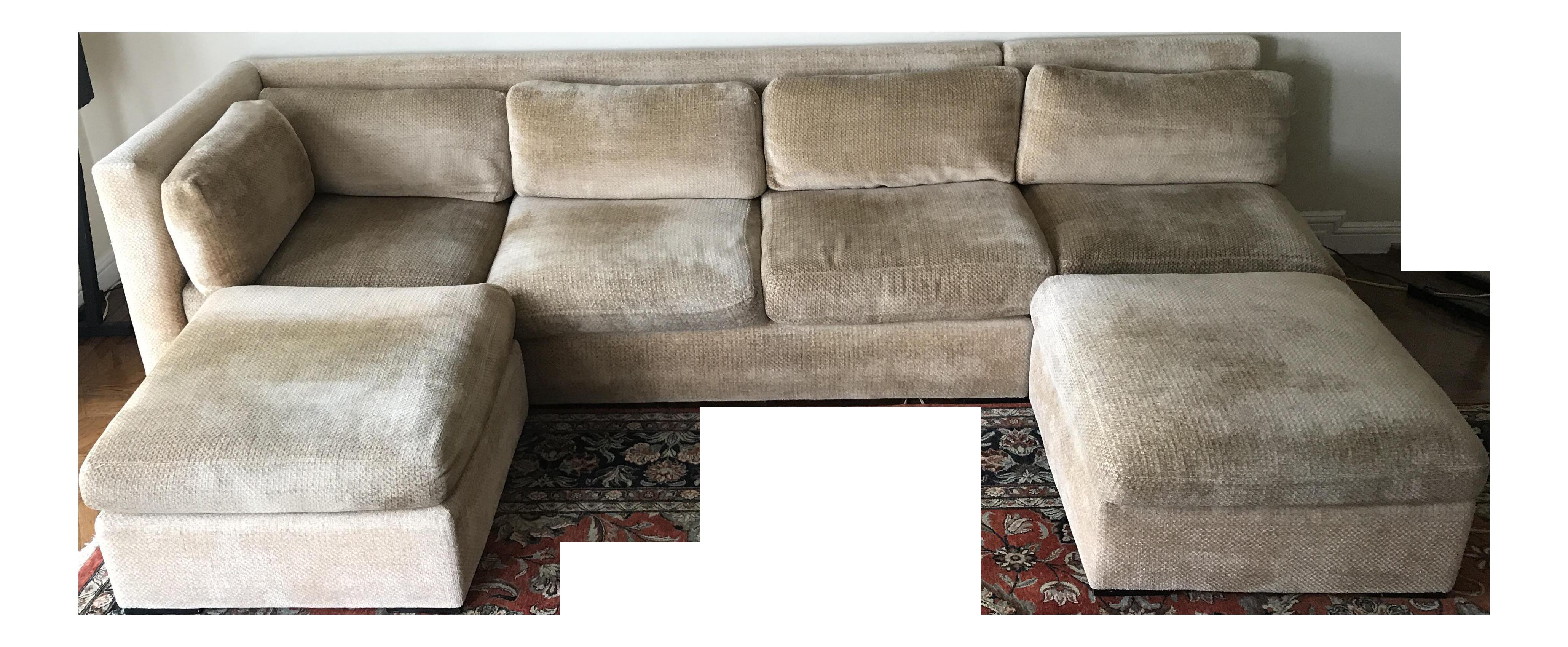 Kreiss Custom Sectional Couch
