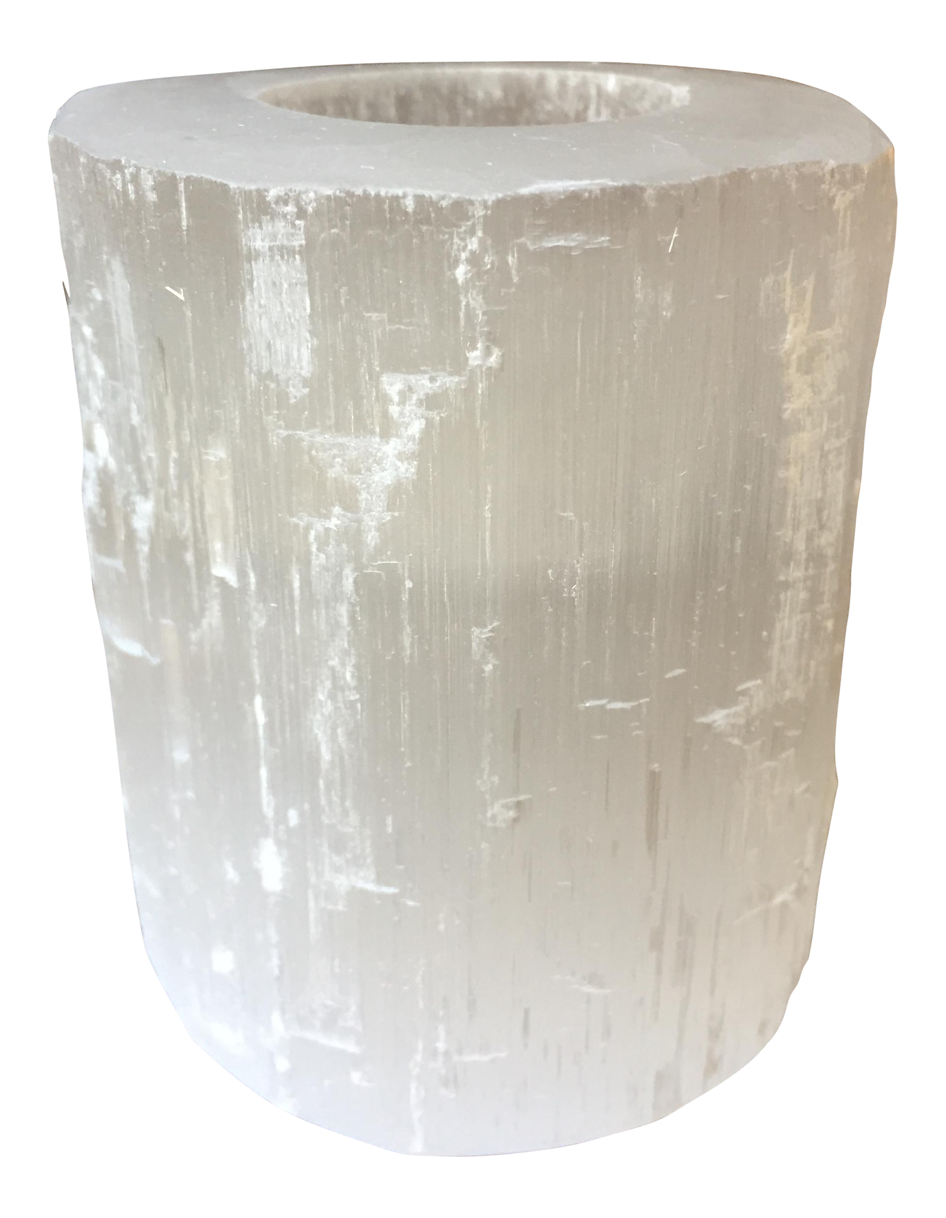 selenite stone candle holder chairish With kitchen cabinets lowes with selenite candle holders
