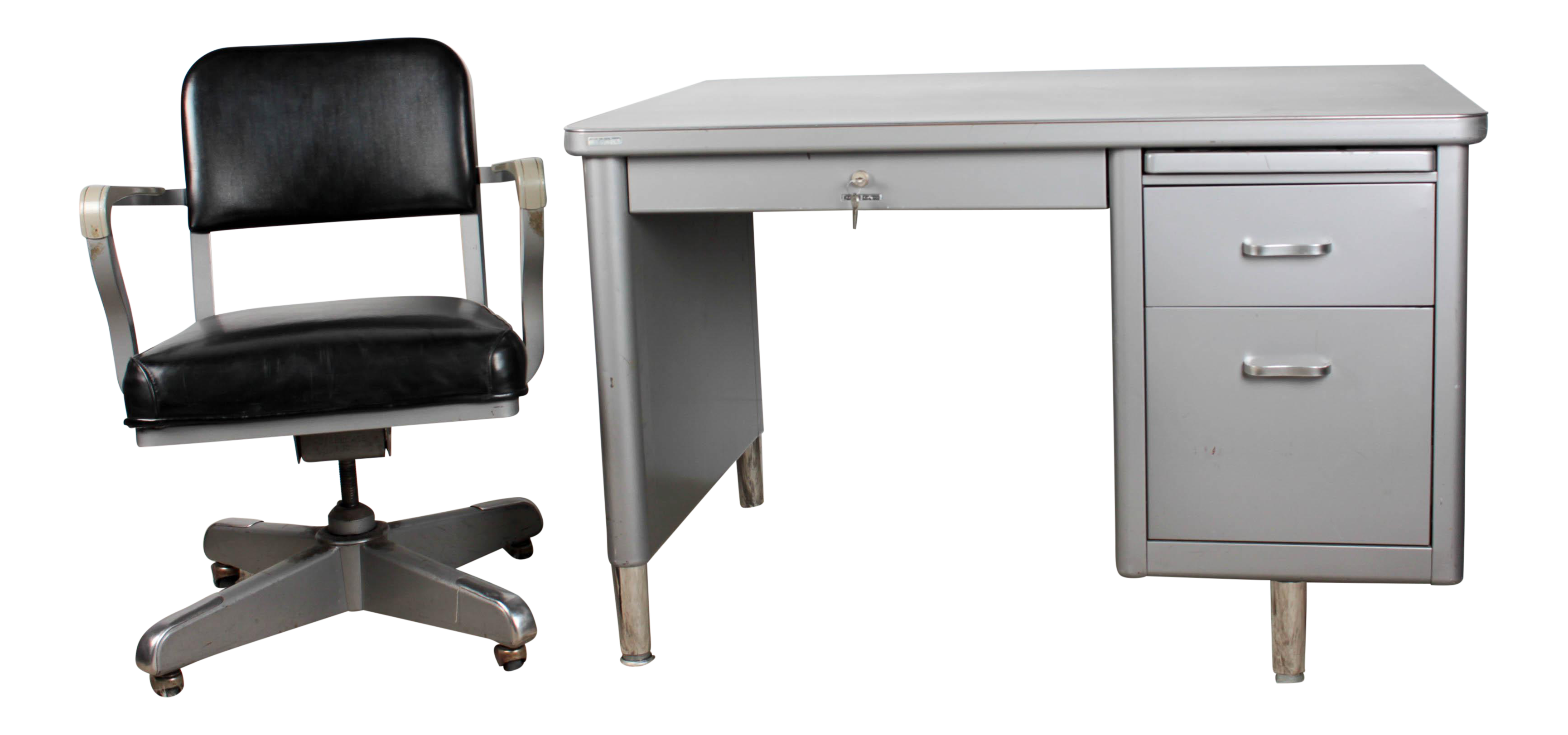 Steelcase Mini Tanker Desk & Chair Set
