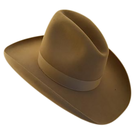 "Vintage ""Ten Gallon"" Cowboy Hat 