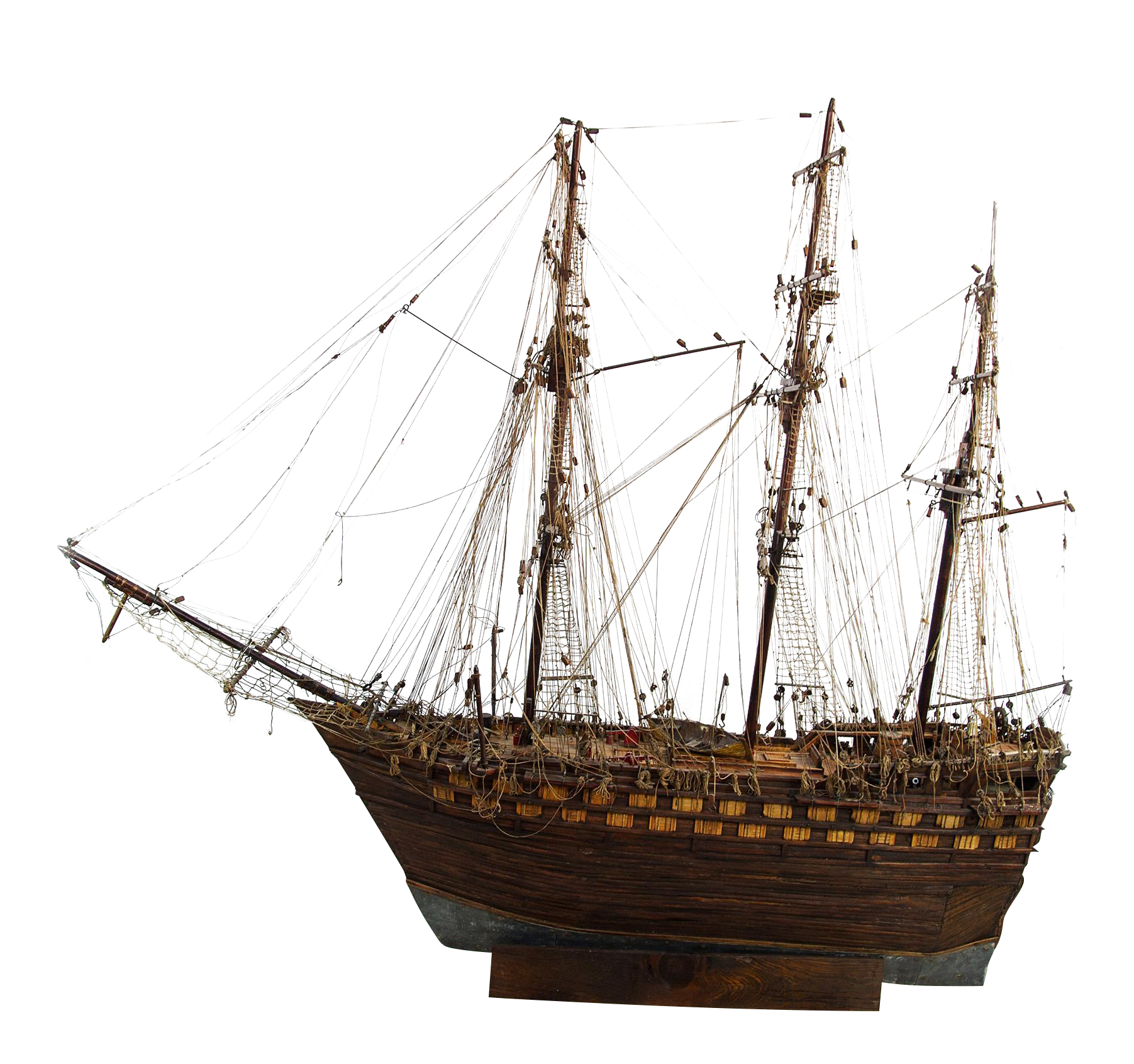 Hand Crafted 18th Century First Rate Ship Model Chairish