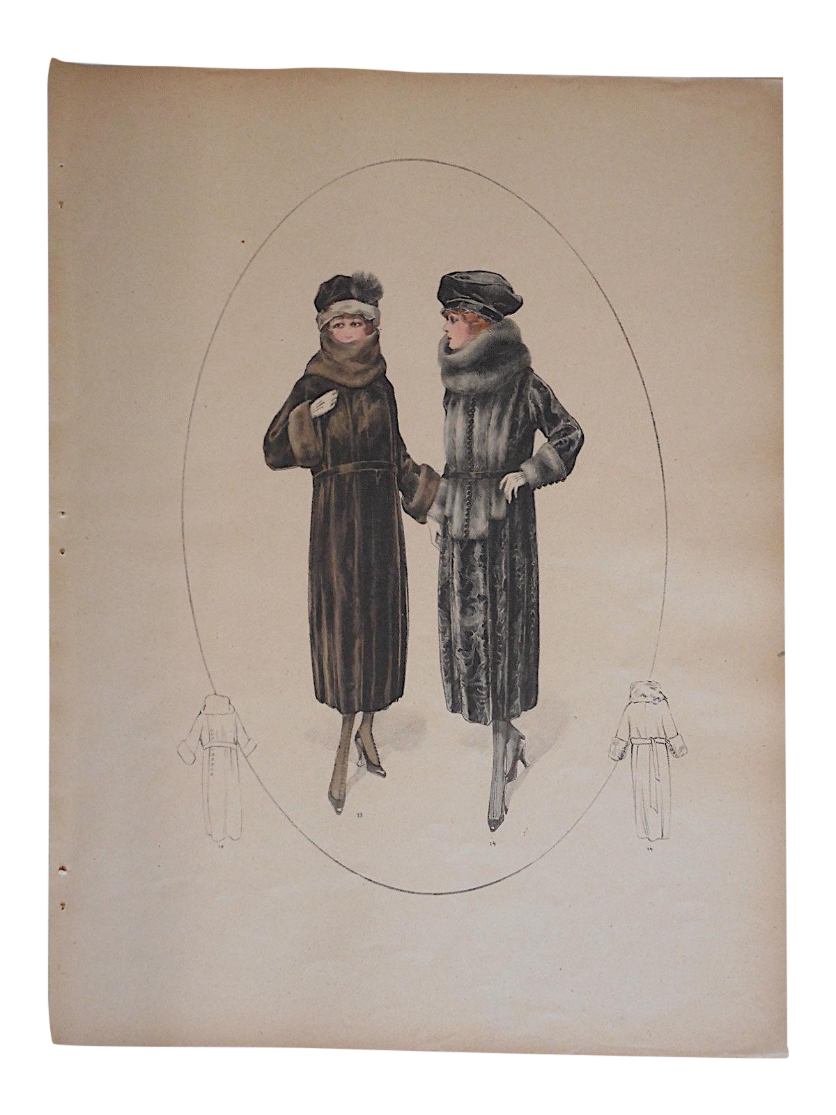 French haute couture fashion print c 1920 chairish for French couture