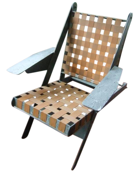 French industrial machine age chair chairish - Cb industry chair ...