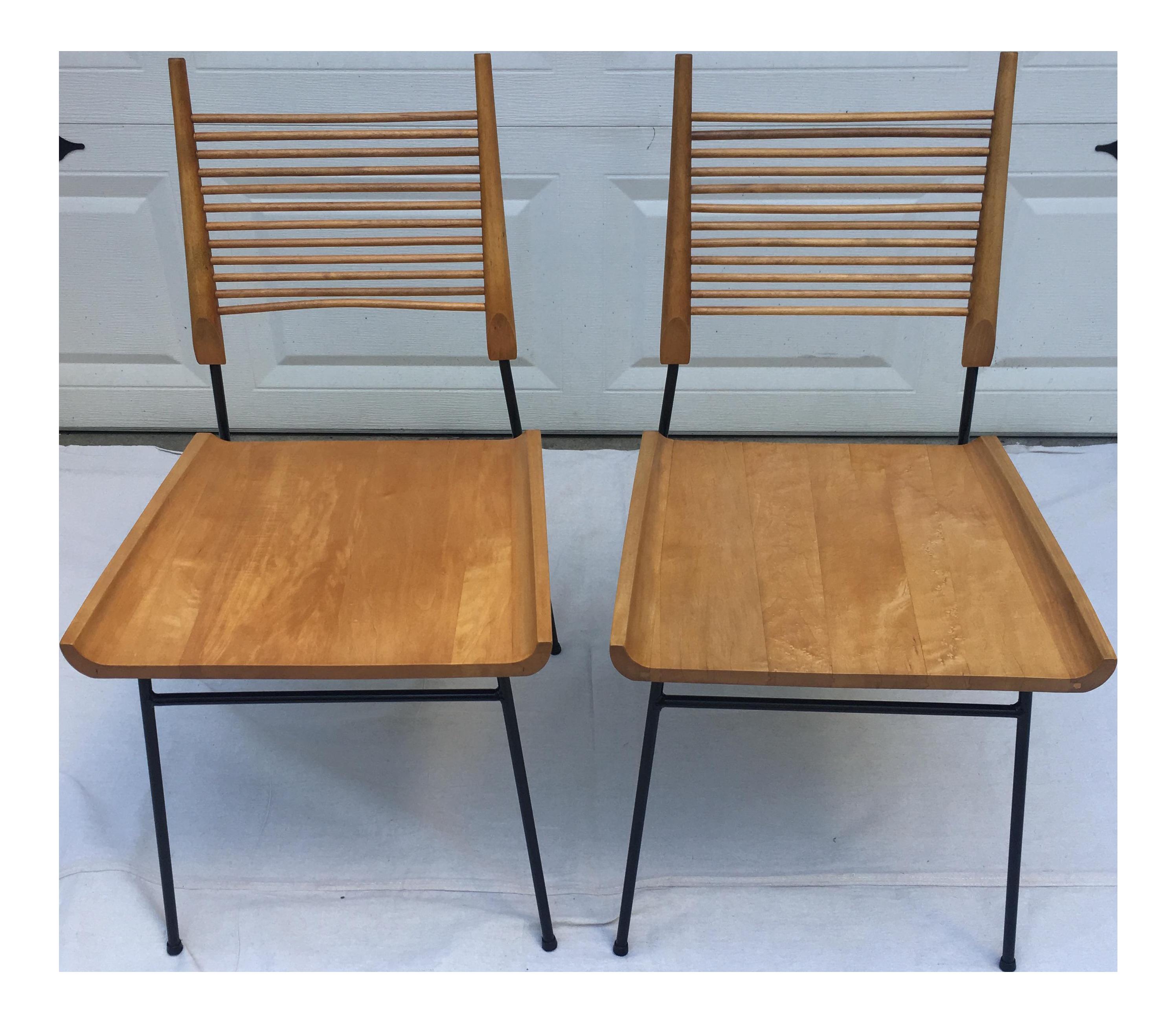 Vintage Paul McCobb Shovel Chairs A Pair