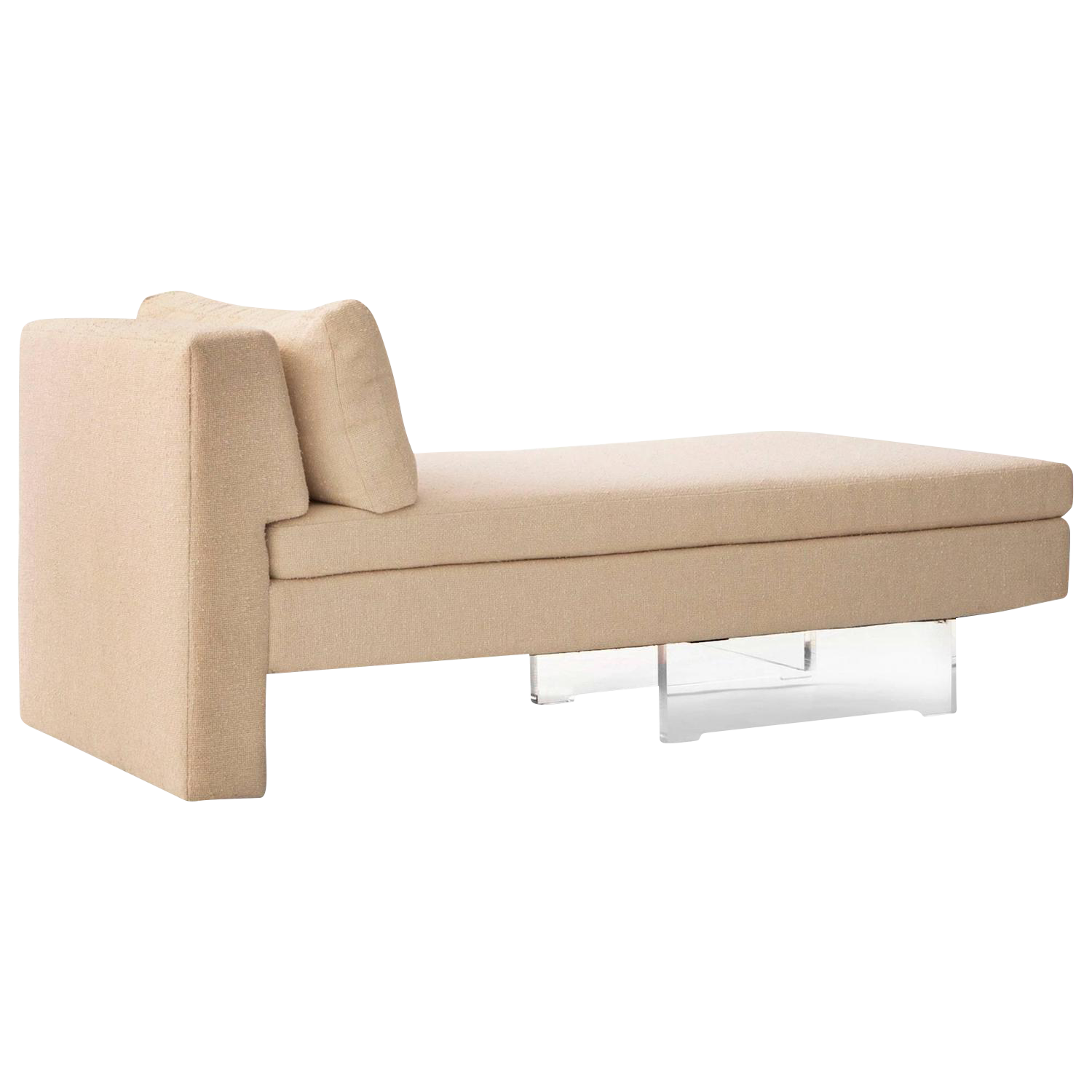 lovely vladimir kagan omnibus chaise longues decaso. Black Bedroom Furniture Sets. Home Design Ideas