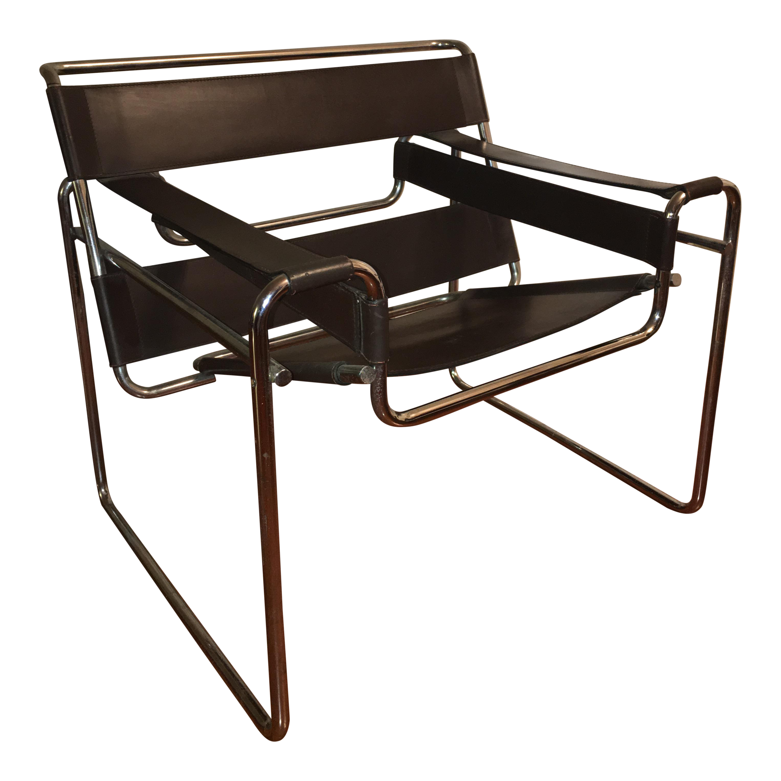 Wassily Chair Designed by Marcel Breuer by Knoll Chairish