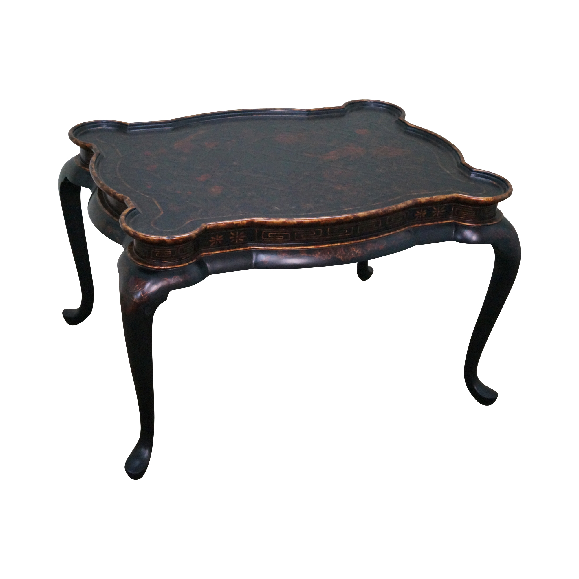 Maitland Smith Chinoiserie Decorated Coffee Table