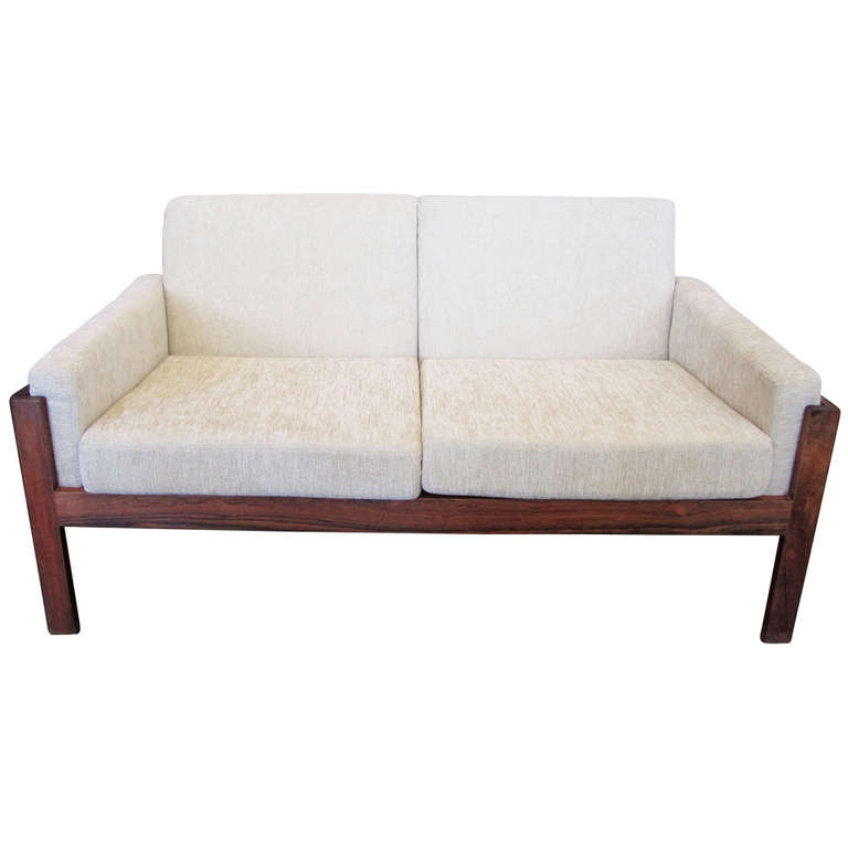 Danish Modern Loveseat Chairish