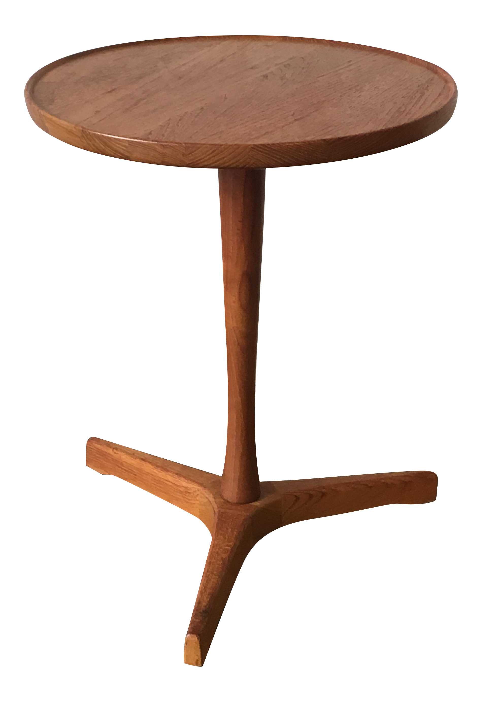 Artek denmark vintage small teak side table chairish geotapseo Image collections