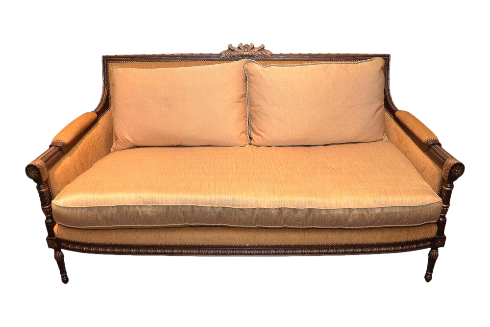 Berber Kammlah for E J Victor Silk Sofa