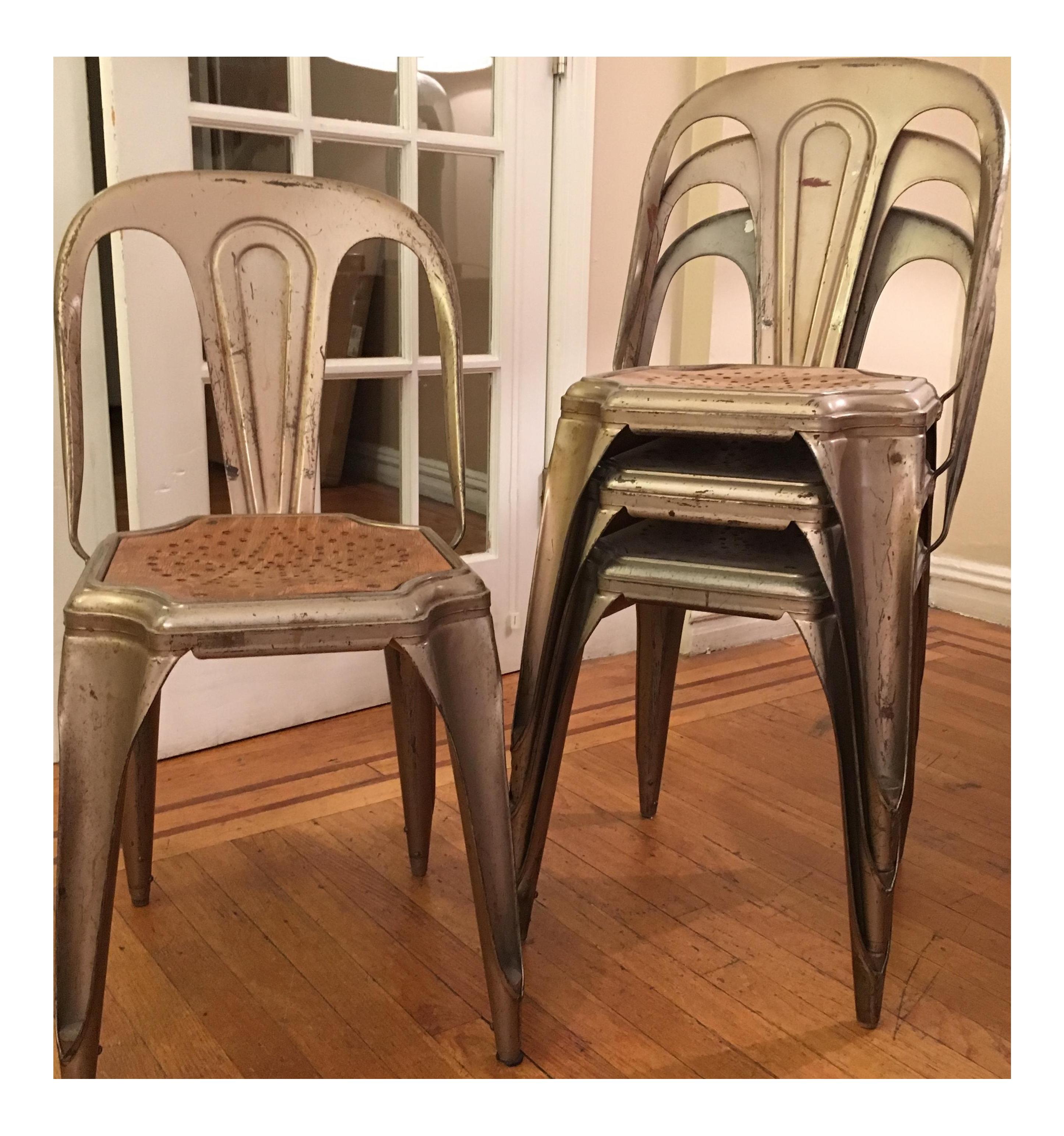Fibrocit Belgian Bistro Chairs Set of 4