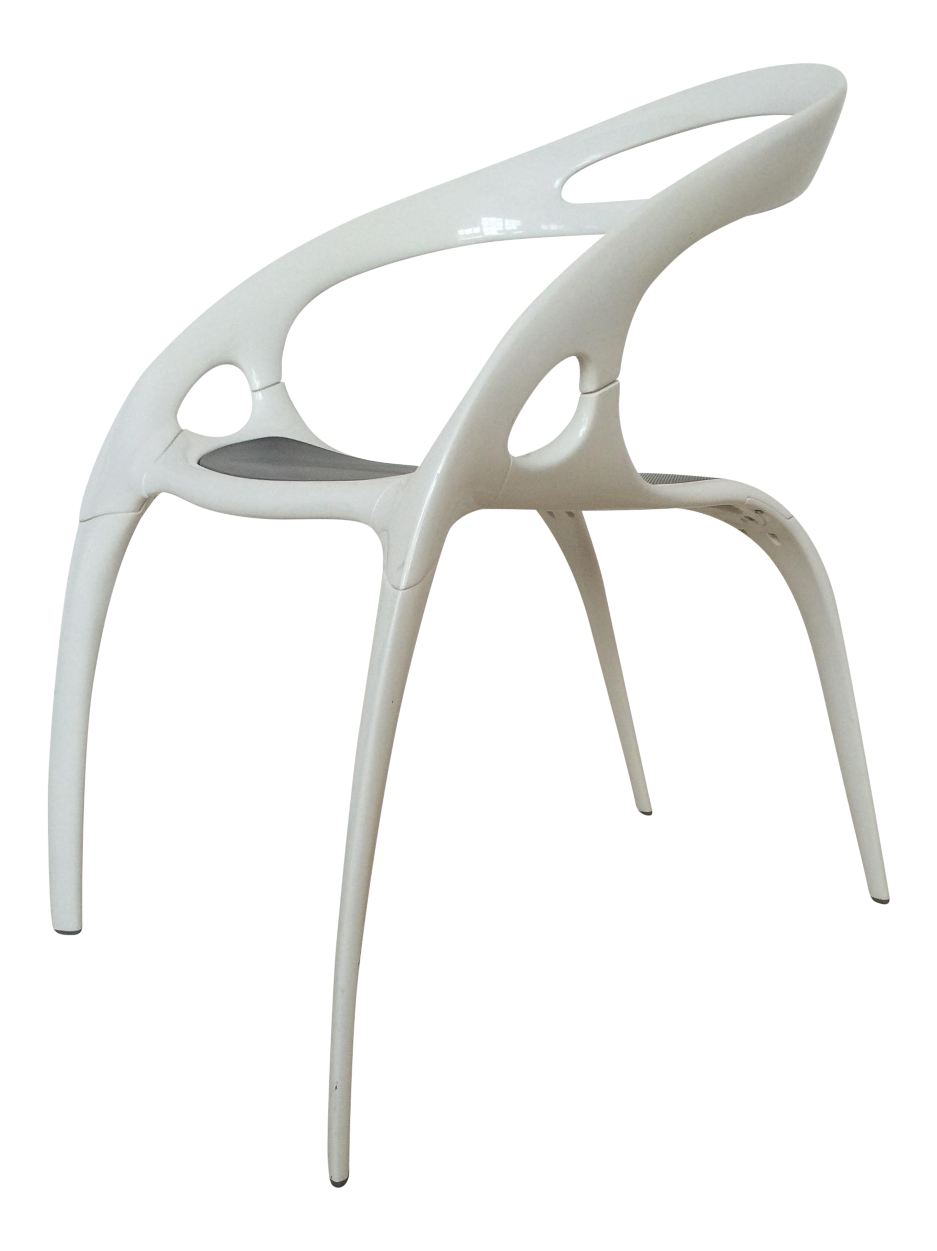 Ross Lovegrove White Lacquer Go Chair Chairish