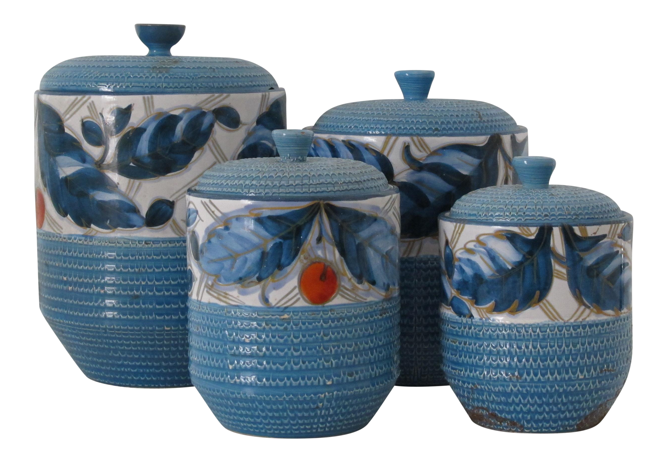 Designer Kitchen Canister Sets Fig Stone Designs Collection For Sale Chairish
